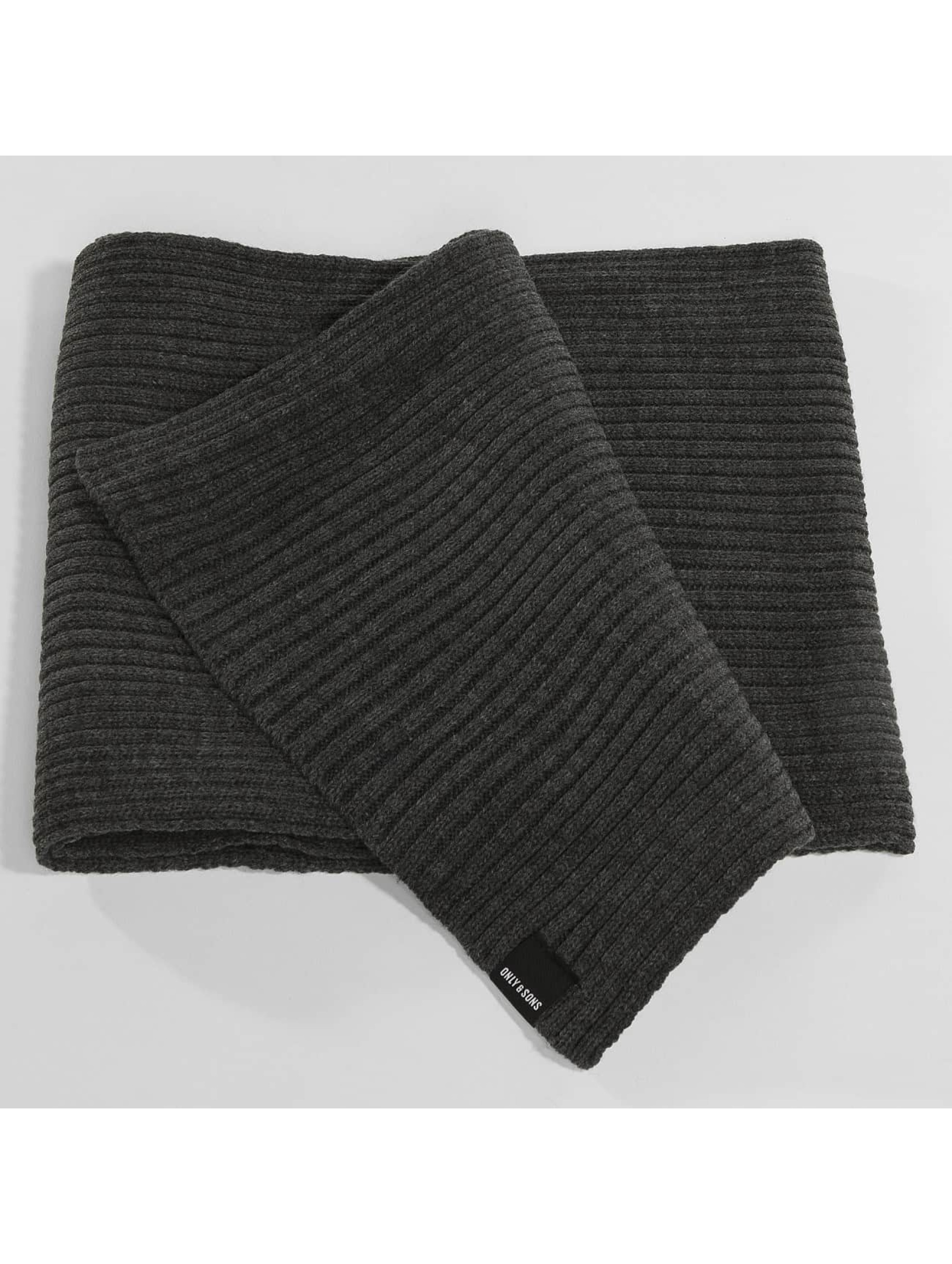 Only & Sons Hat-1 onsChris Beanie & Scarf gray