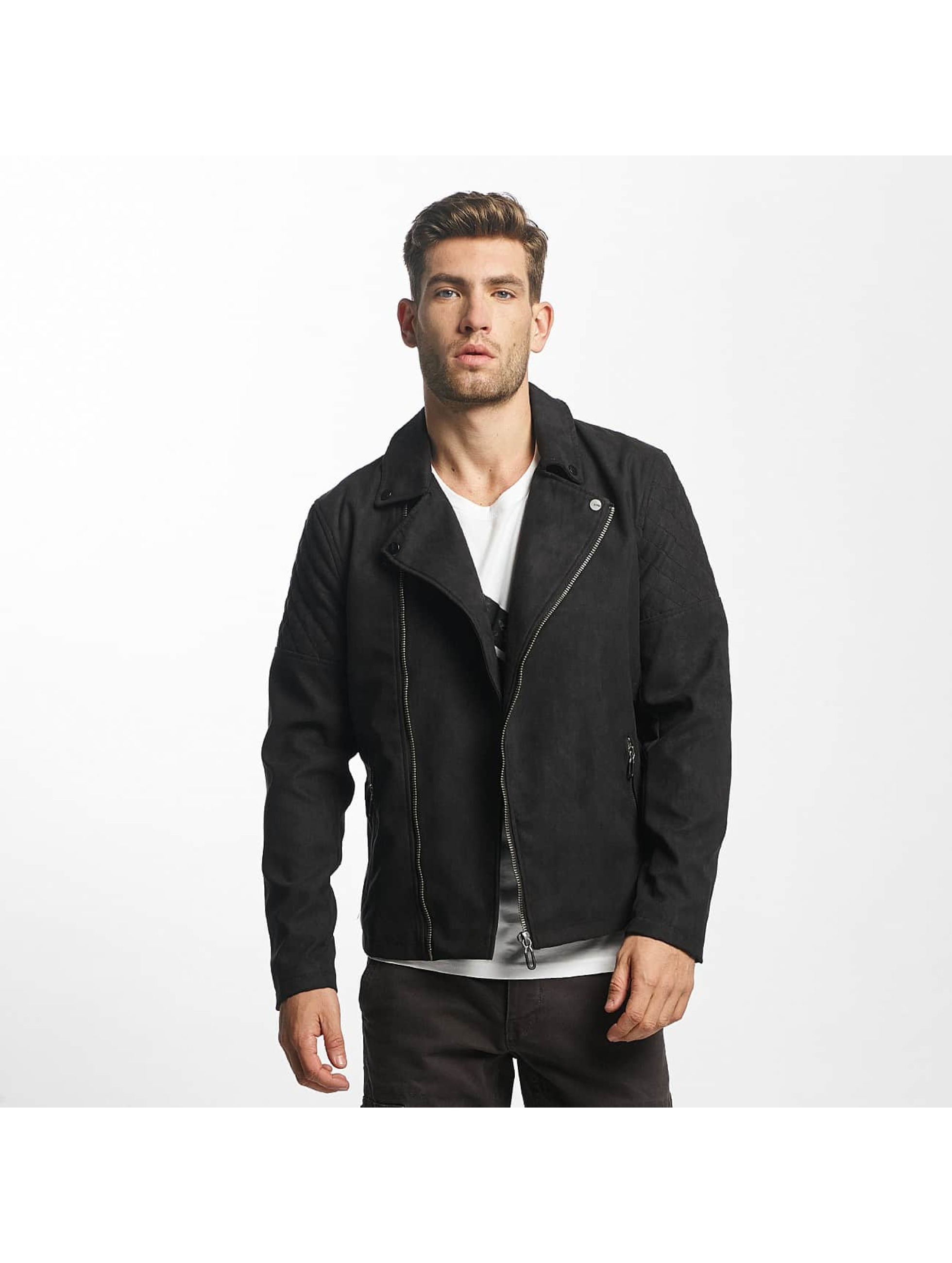 Only & Sons Leather Jacket onsFrank Biker black