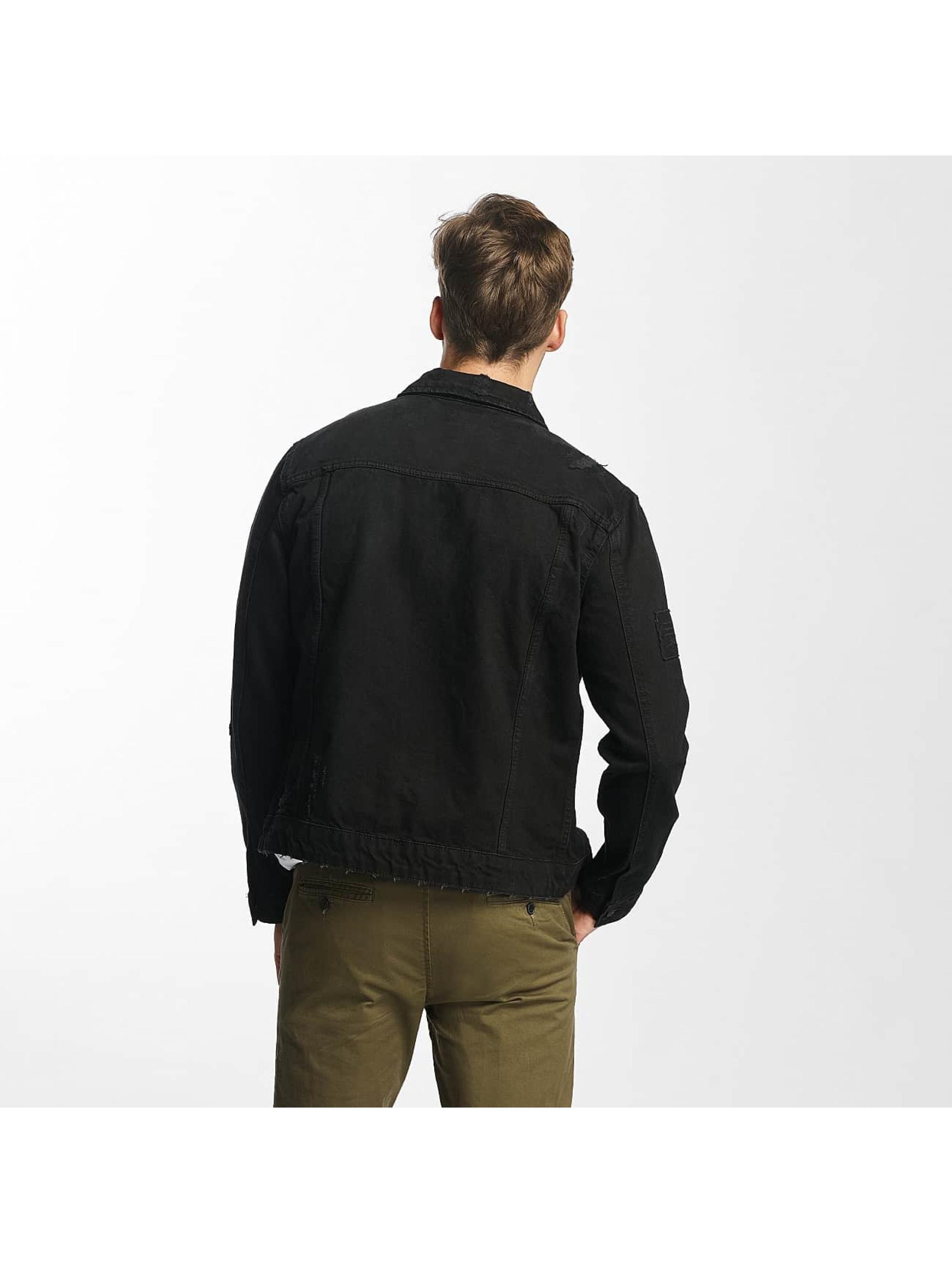 Only & Sons Lightweight Jacket onsRocker Patch Denim black