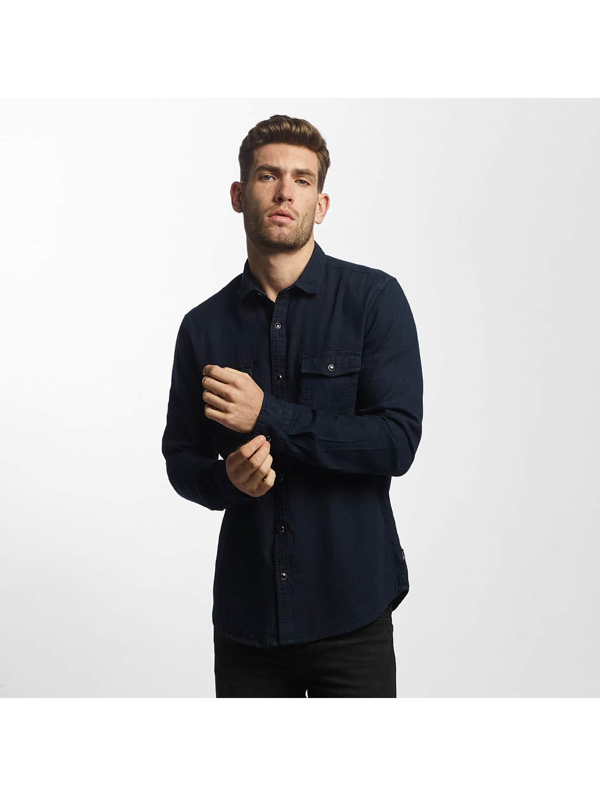 Only & Sons Shirt onsBoye Slim Denim blue