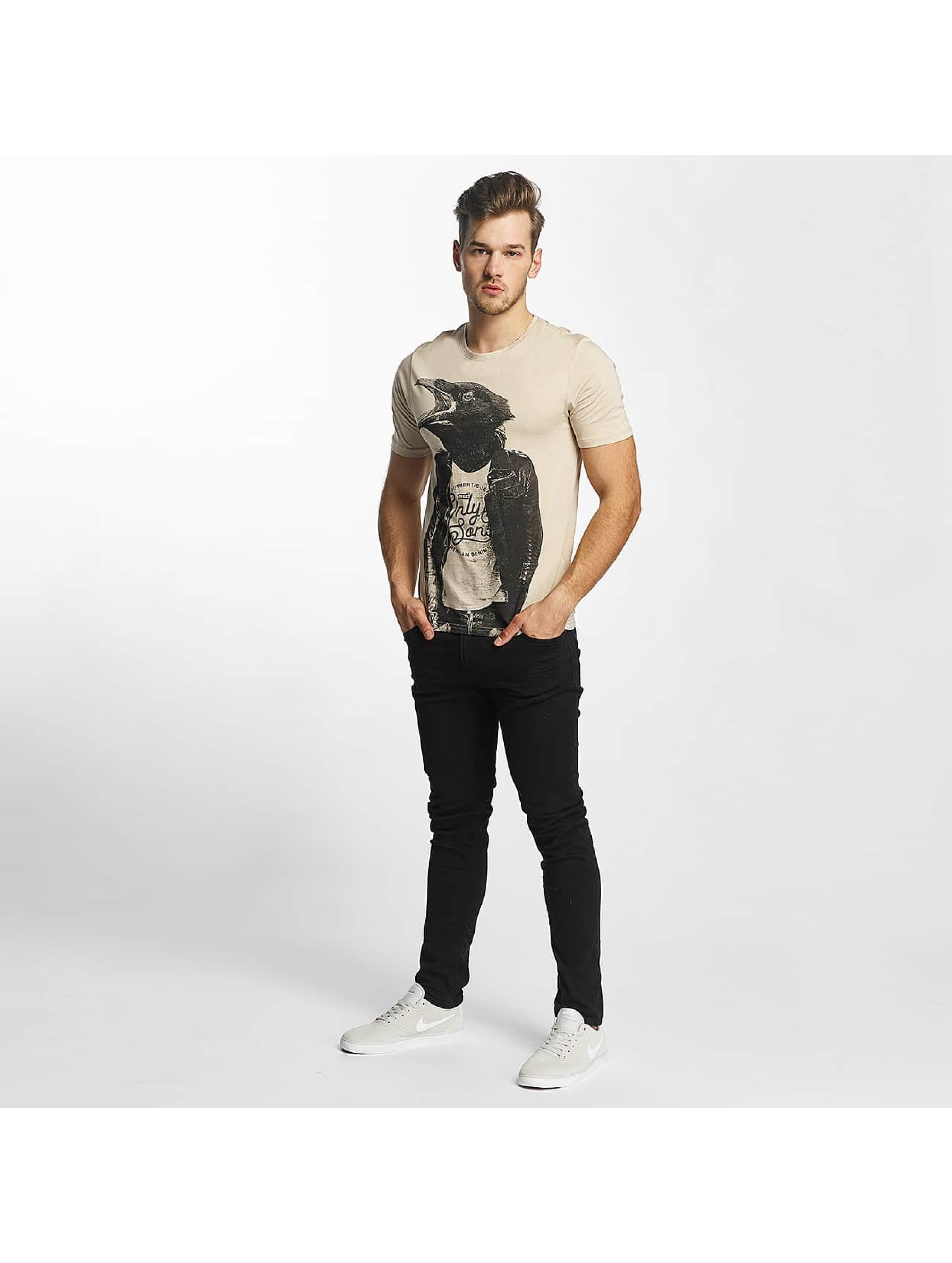 Only & Sons T-Shirt onsChristian beige