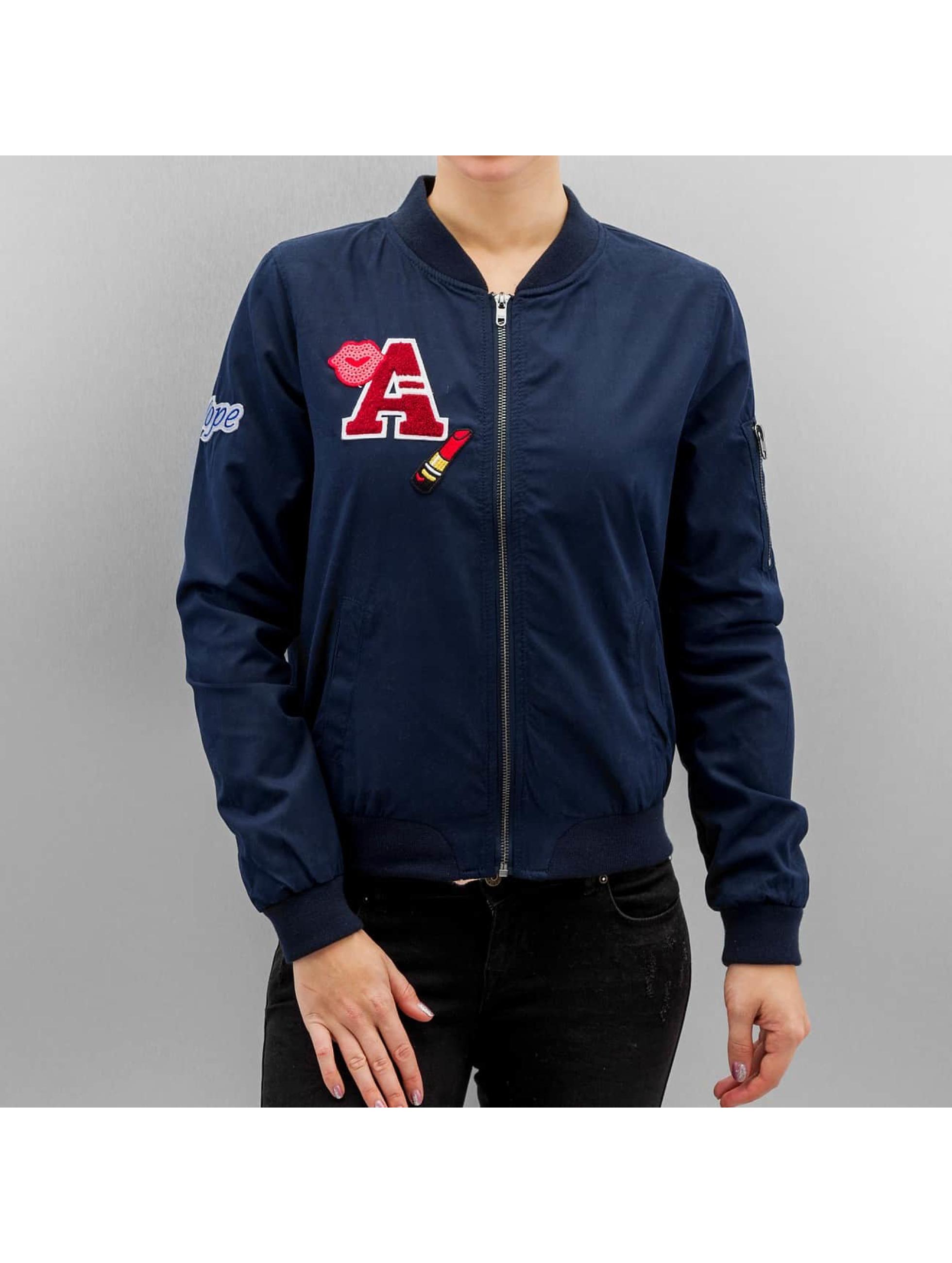 Only Bomber jacket OnlJennie blue