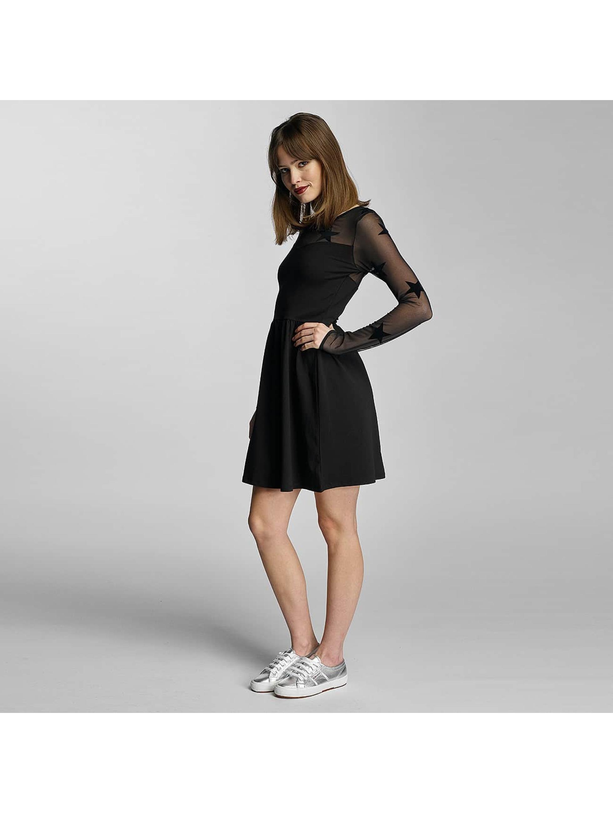 Only Dress onlNiella Mesh Star black