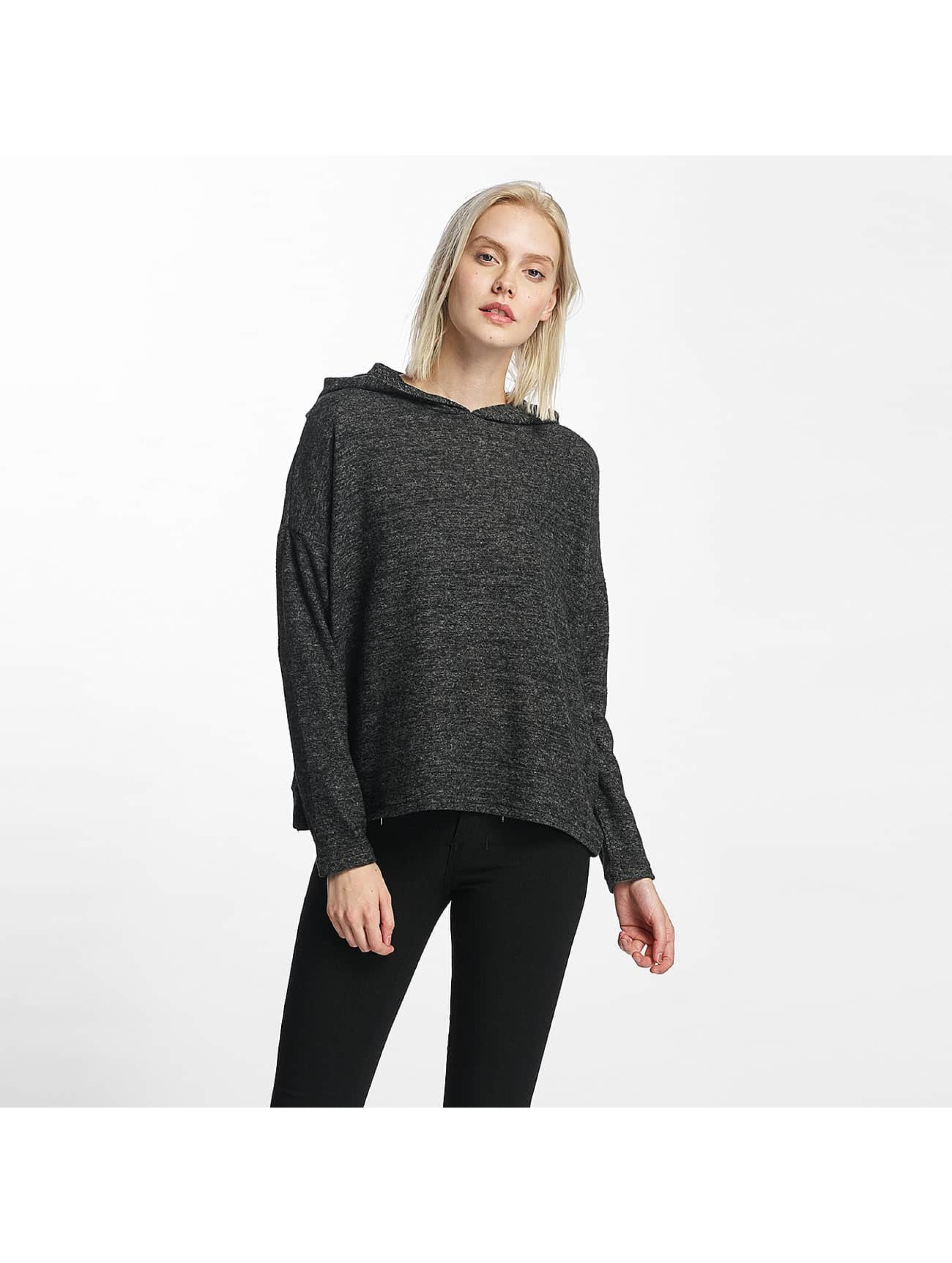 Only Hoodie onlIda Knit gray