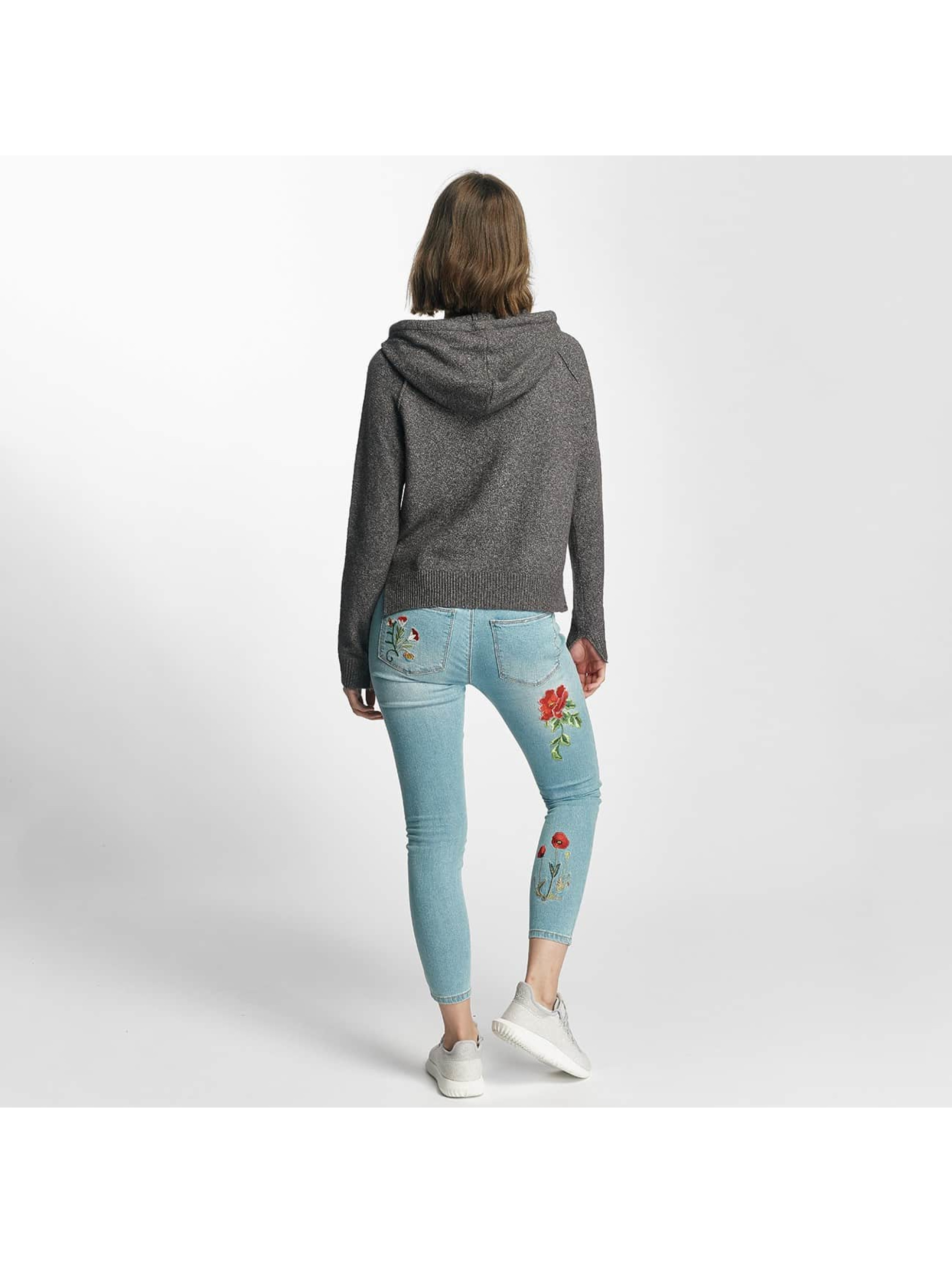 Only Hoodie onlCelia Knit gray