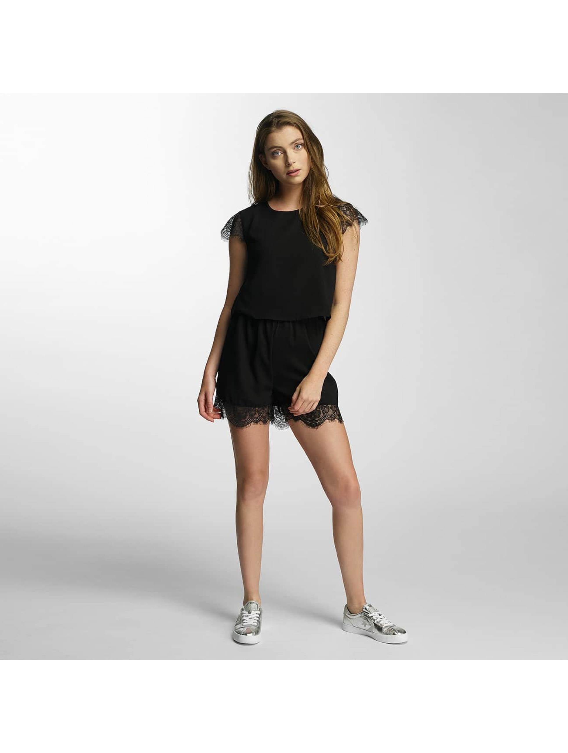 only damen jumpsuit onlswing cap in schwarz 359697. Black Bedroom Furniture Sets. Home Design Ideas
