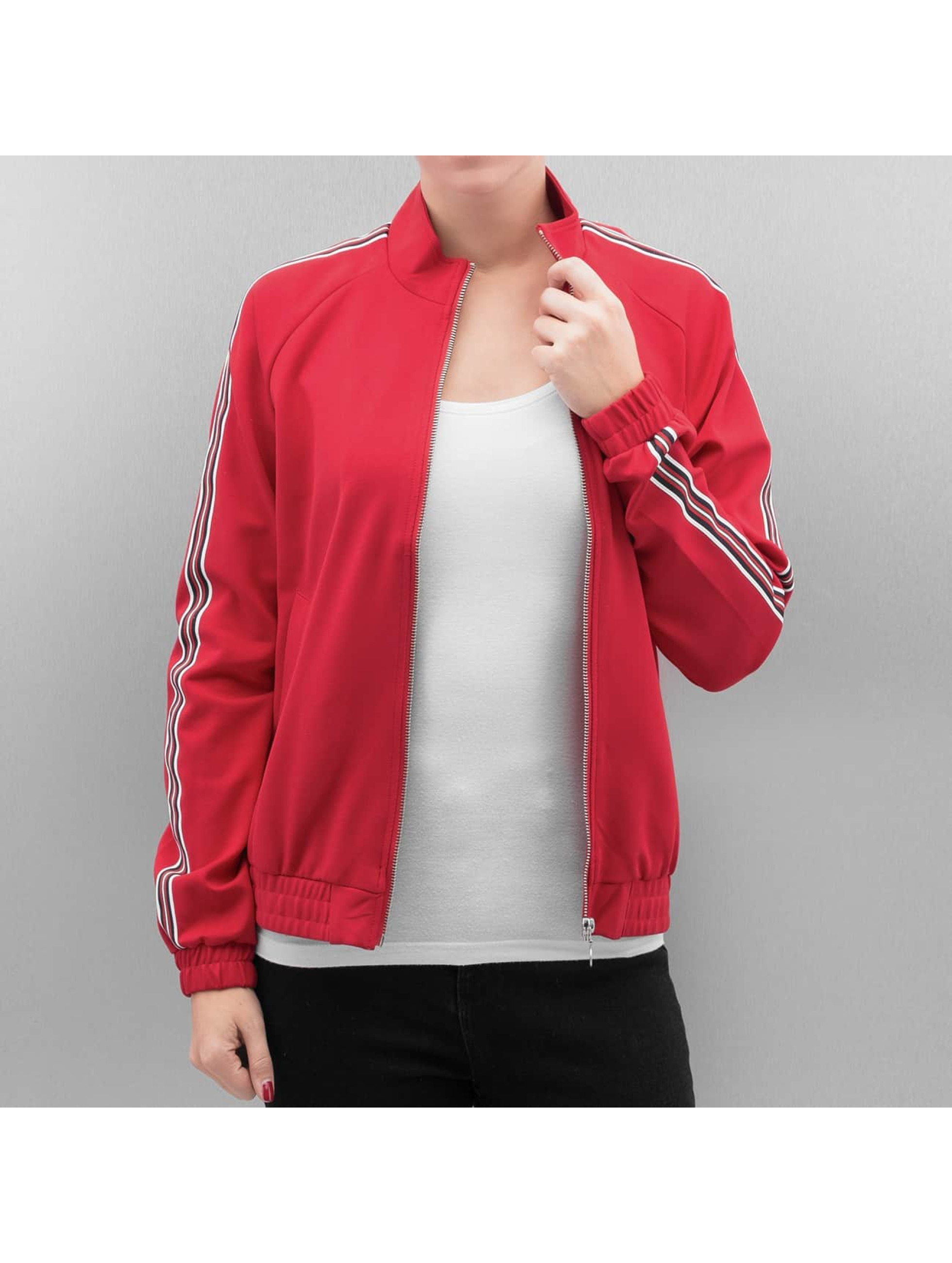 Only Lightweight Jacket onlPoptrash red