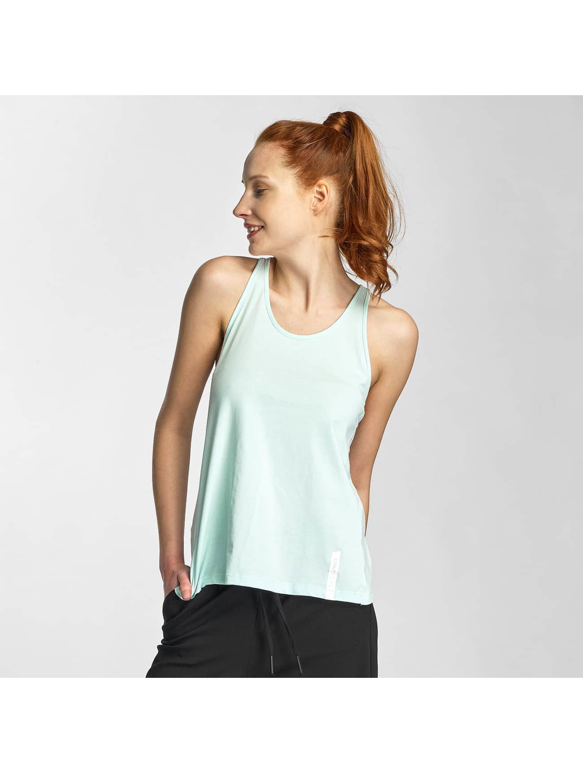 Only Play Tank Tops onpIvy turquoise