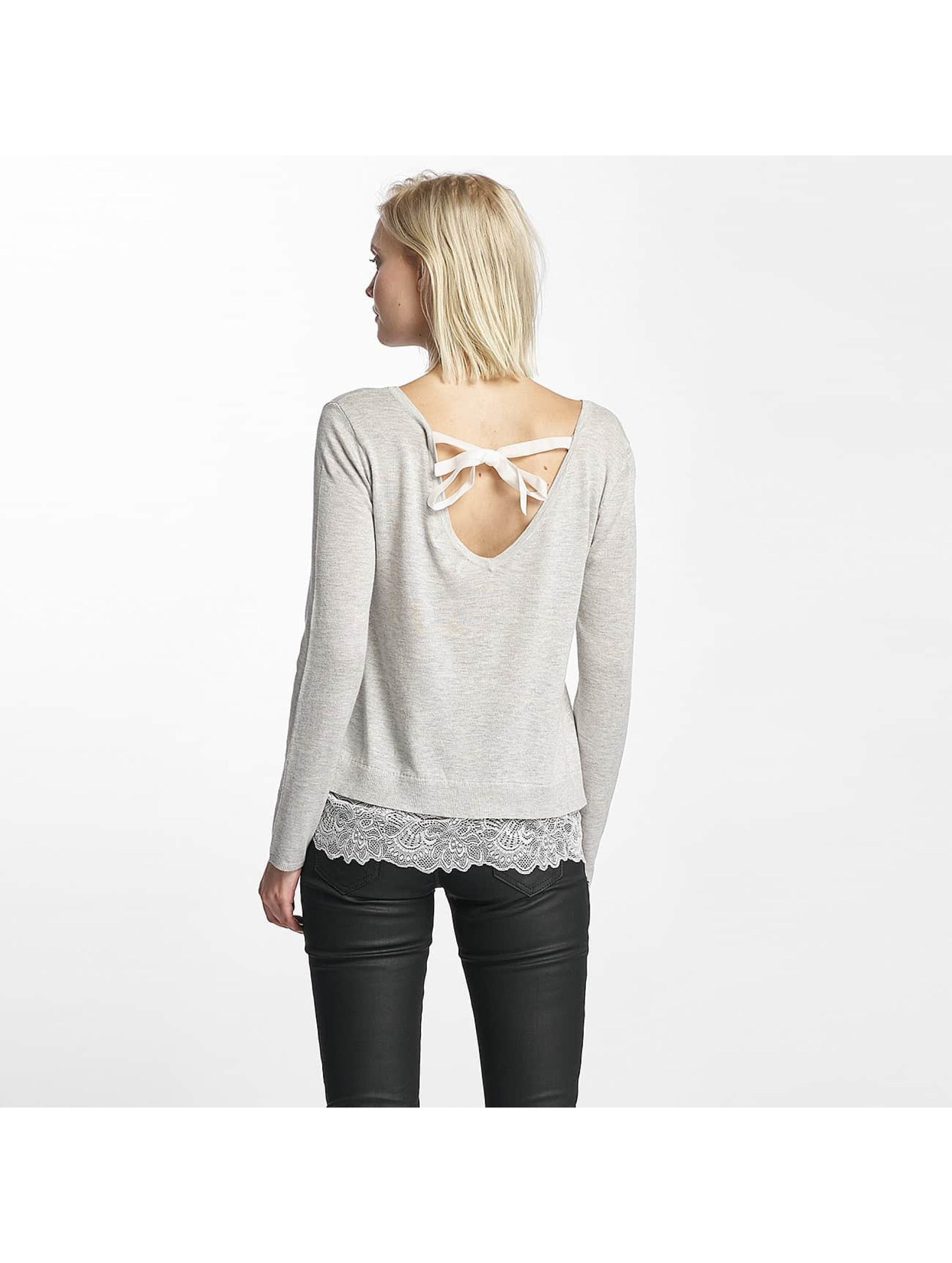 Only Pullover onlShirtley Lace gray