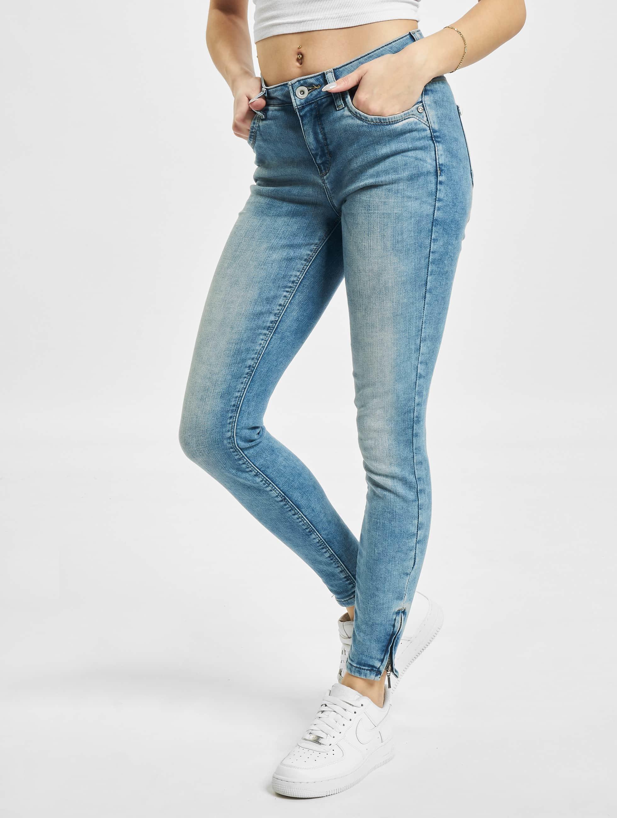 only damen skinny jeans onlkendell in blau 216554. Black Bedroom Furniture Sets. Home Design Ideas