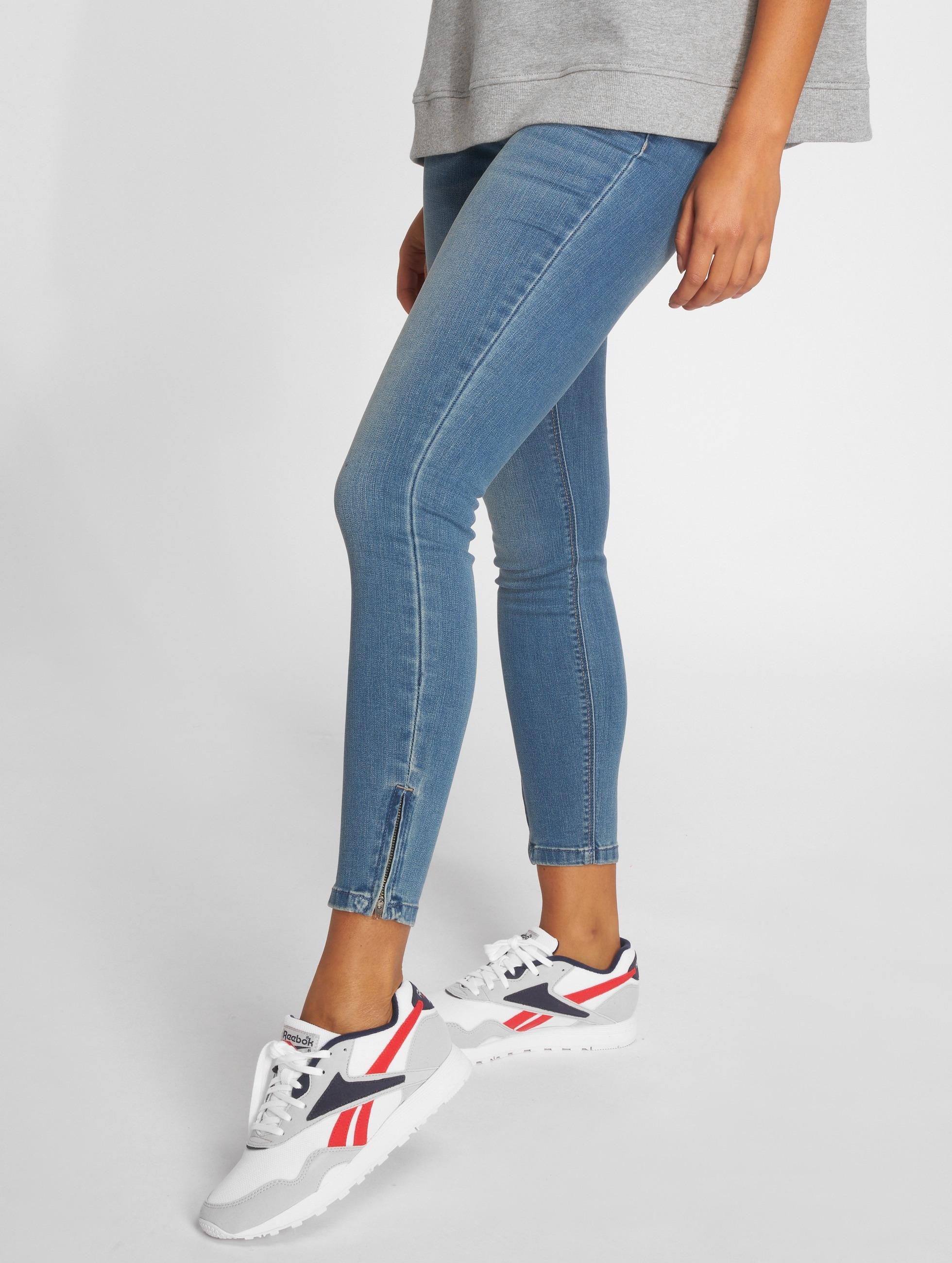 only damen skinny jeans onlkendell in blau 311804. Black Bedroom Furniture Sets. Home Design Ideas