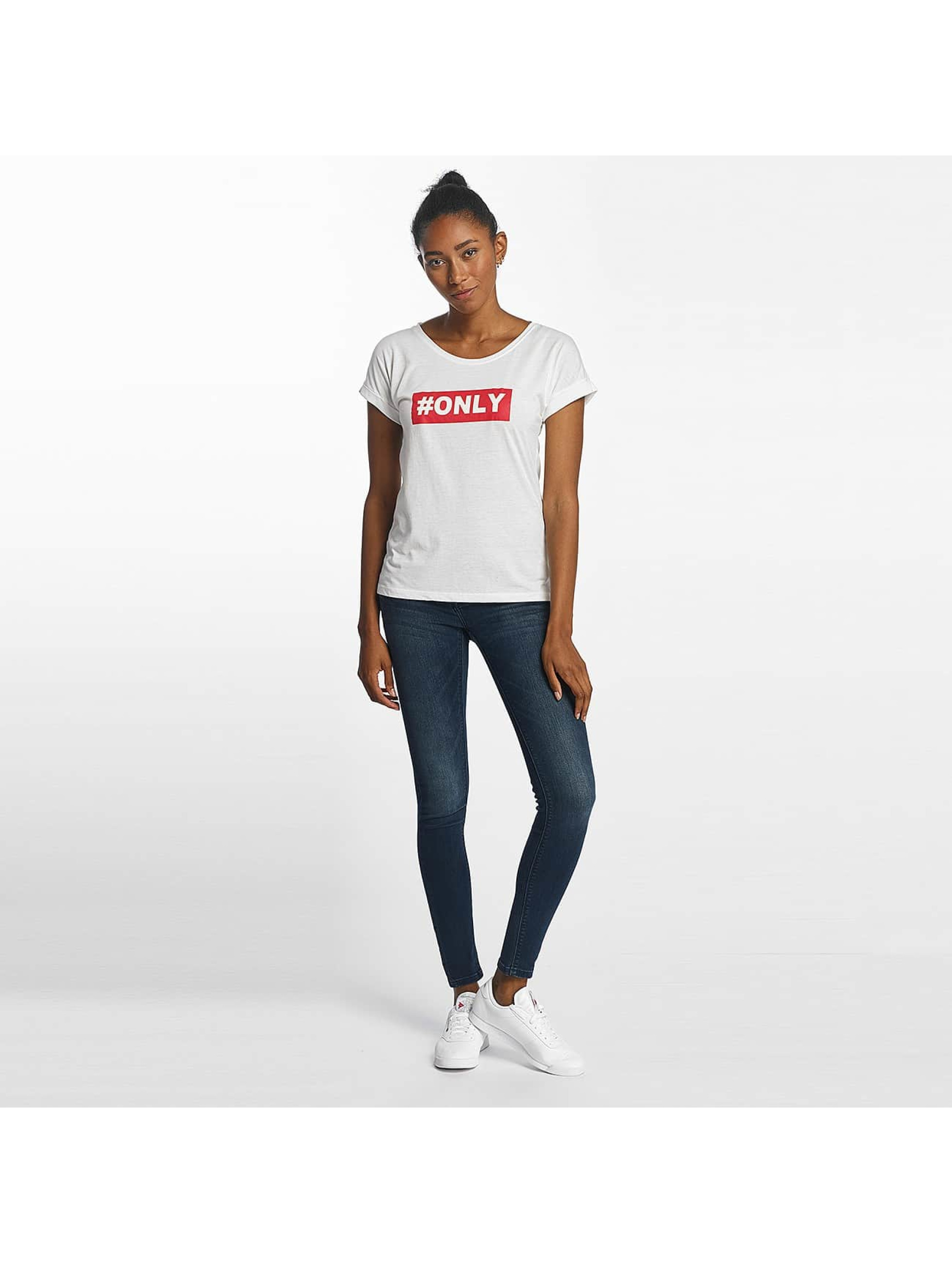 Only T-Shirt onlTruly white