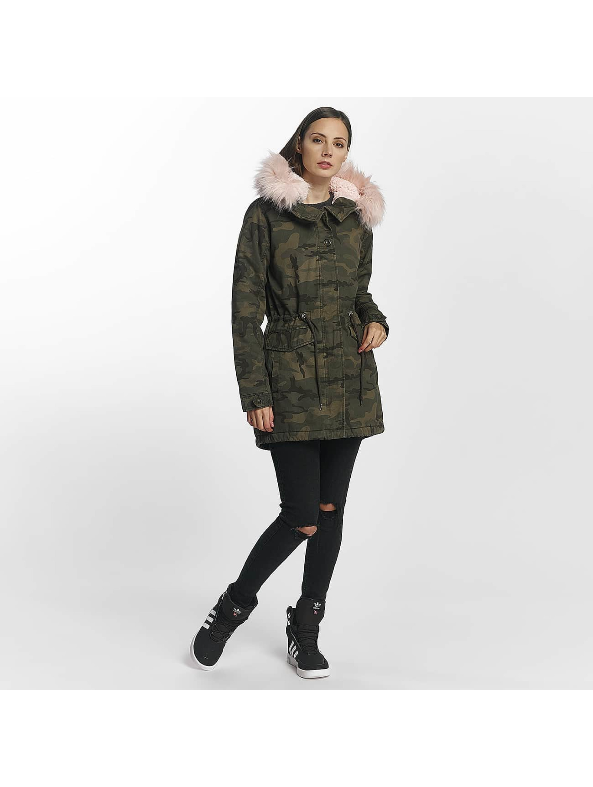 Only Winter Jacket onlStella camouflage