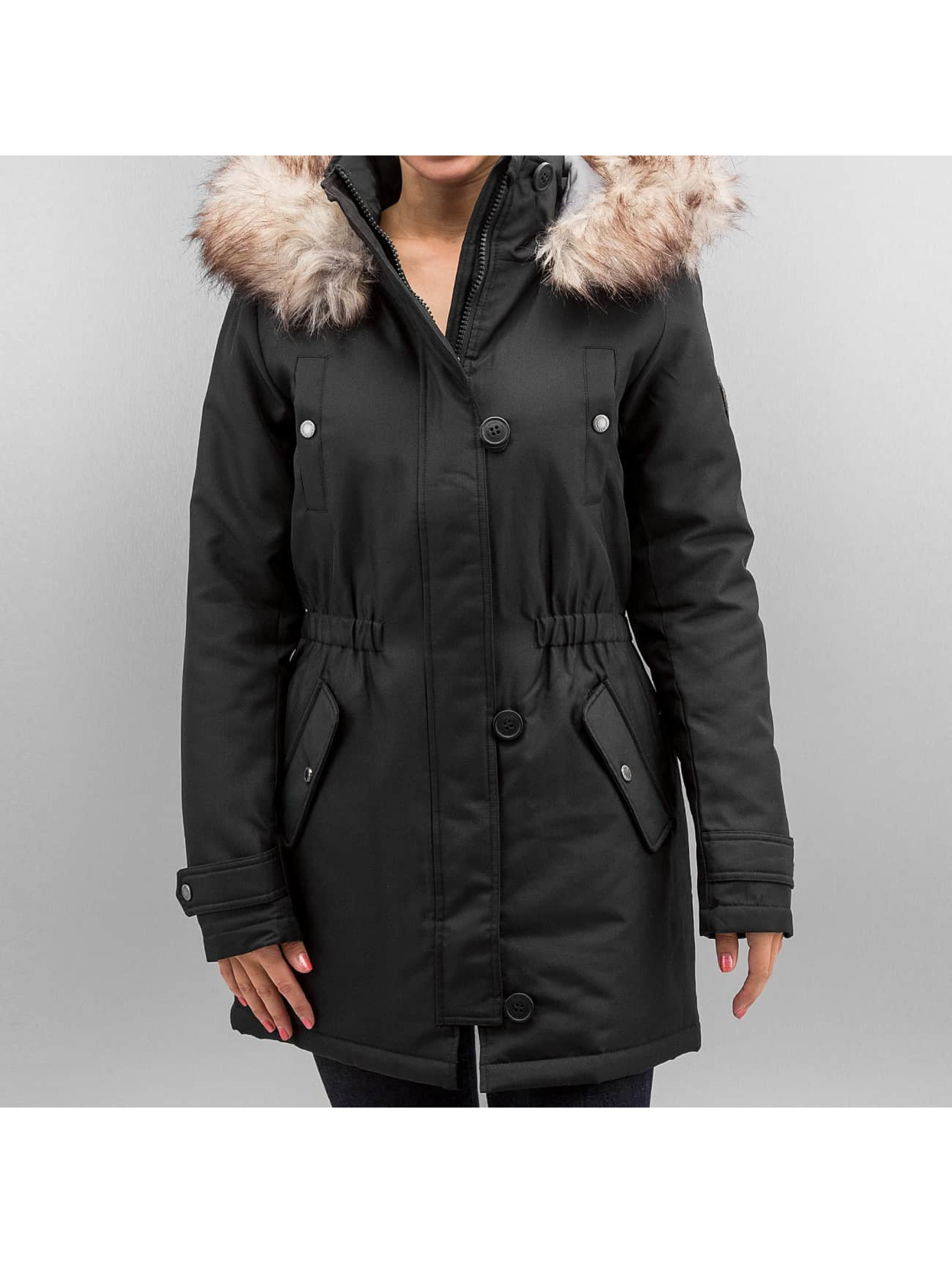 winterjacken damen parka only modische jacken dieser. Black Bedroom Furniture Sets. Home Design Ideas