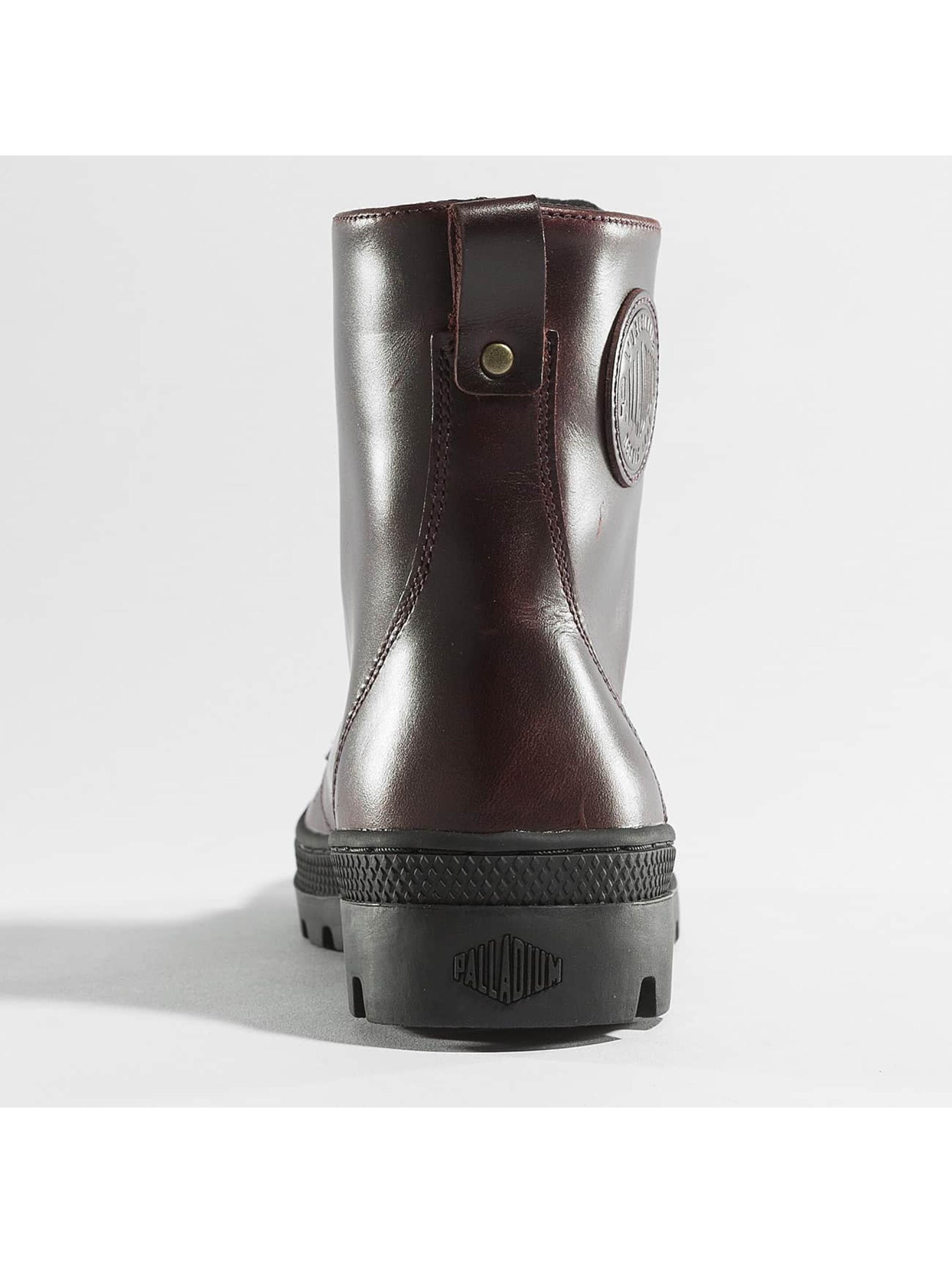 Palladium Boots Pallabosse Off Lea brown