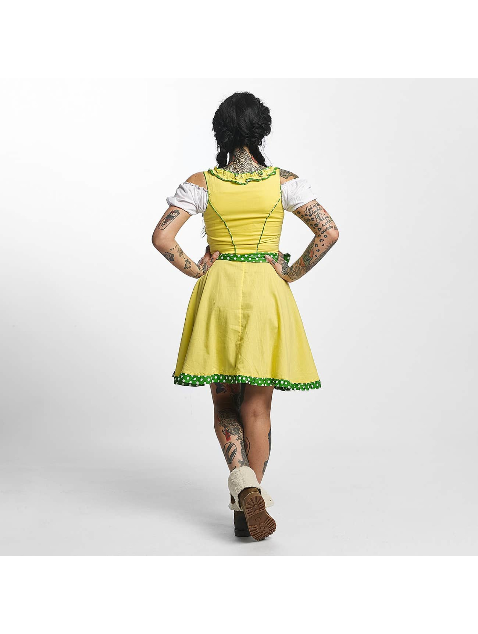 Paris Premium Dress Funny yellow
