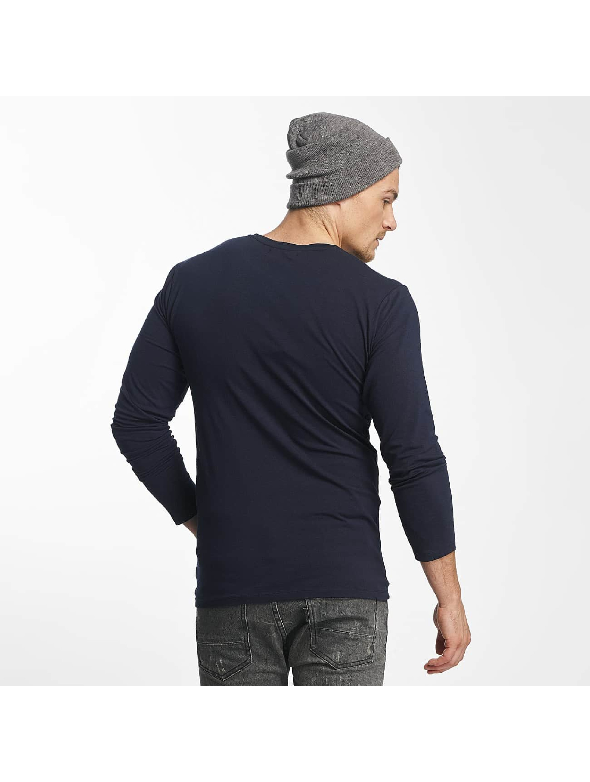 Paris Premium Longsleeve Basic blue