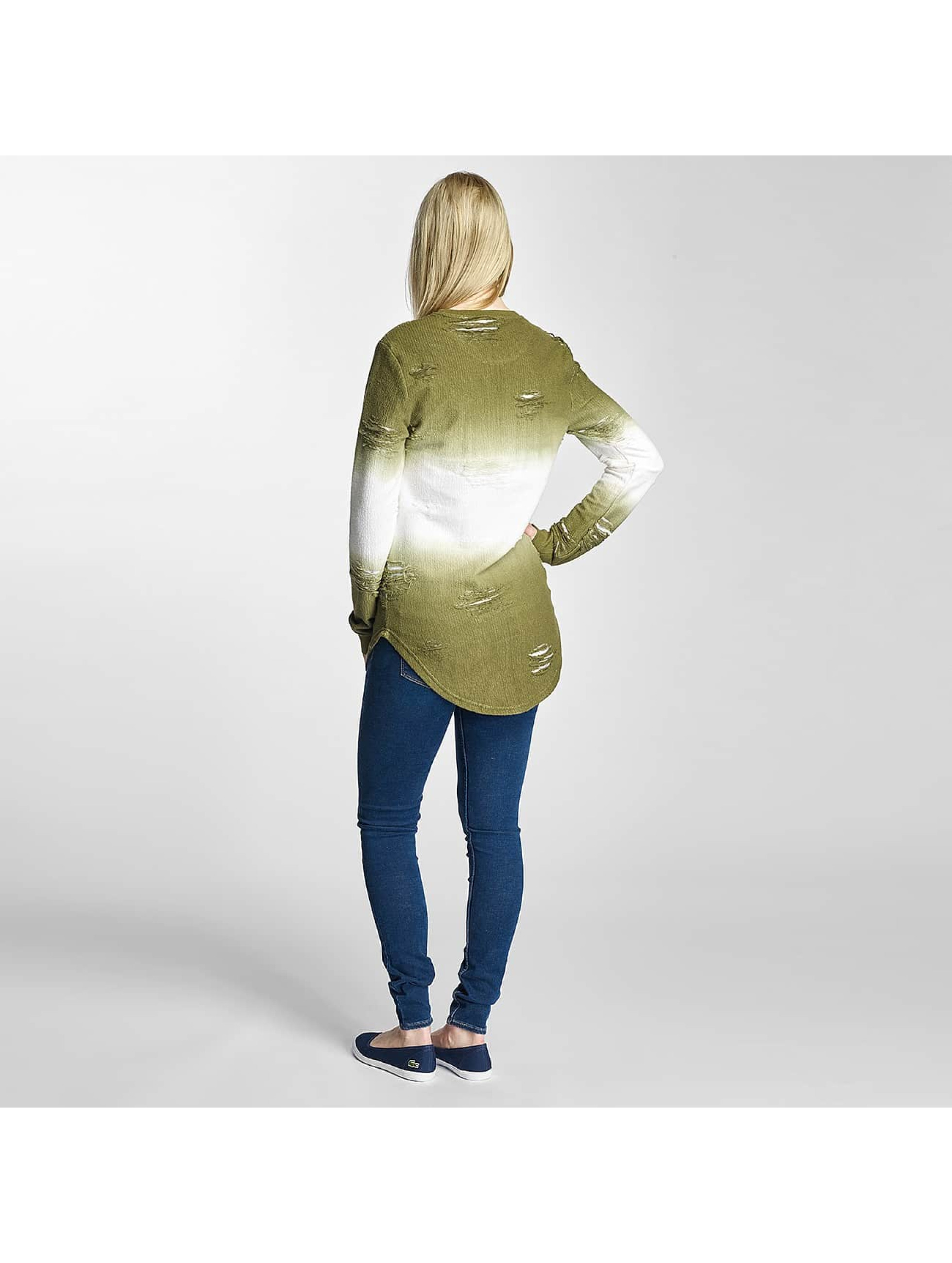 Paris Premium Pullover Two Tone green