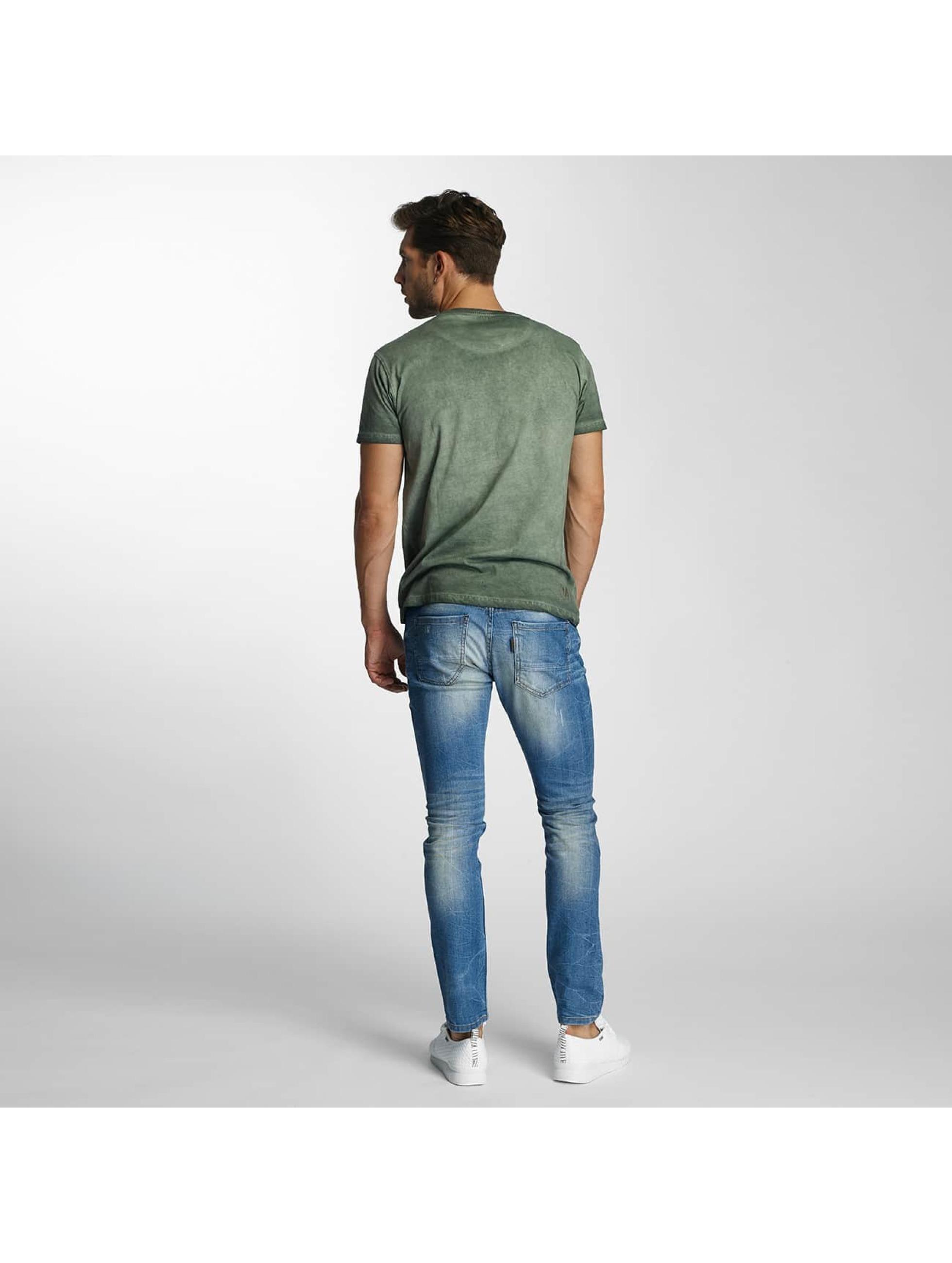 Paris Premium Straight Fit Jeans Dirt blue