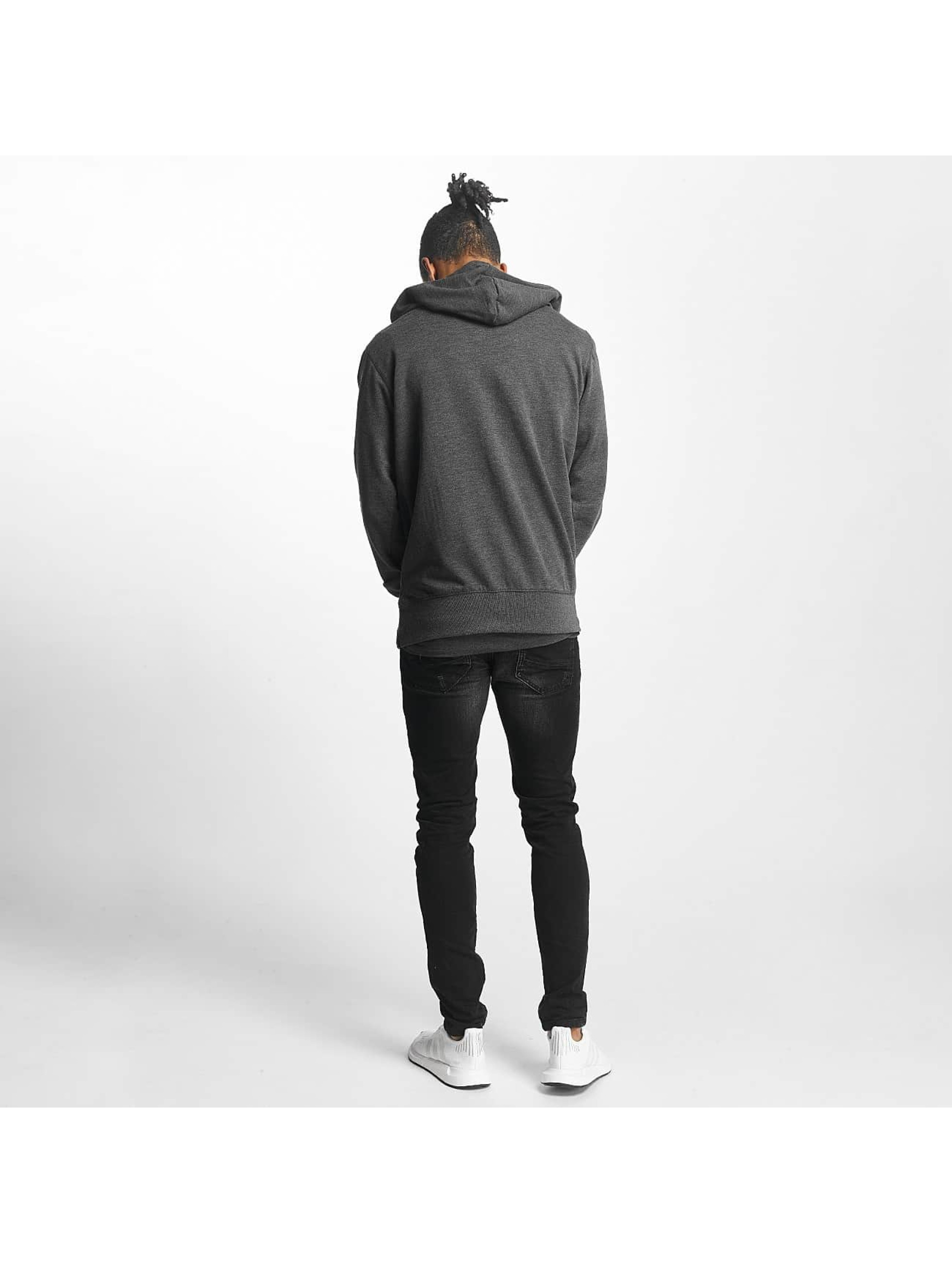 Paris Premium Zip Hoodie Basic gray