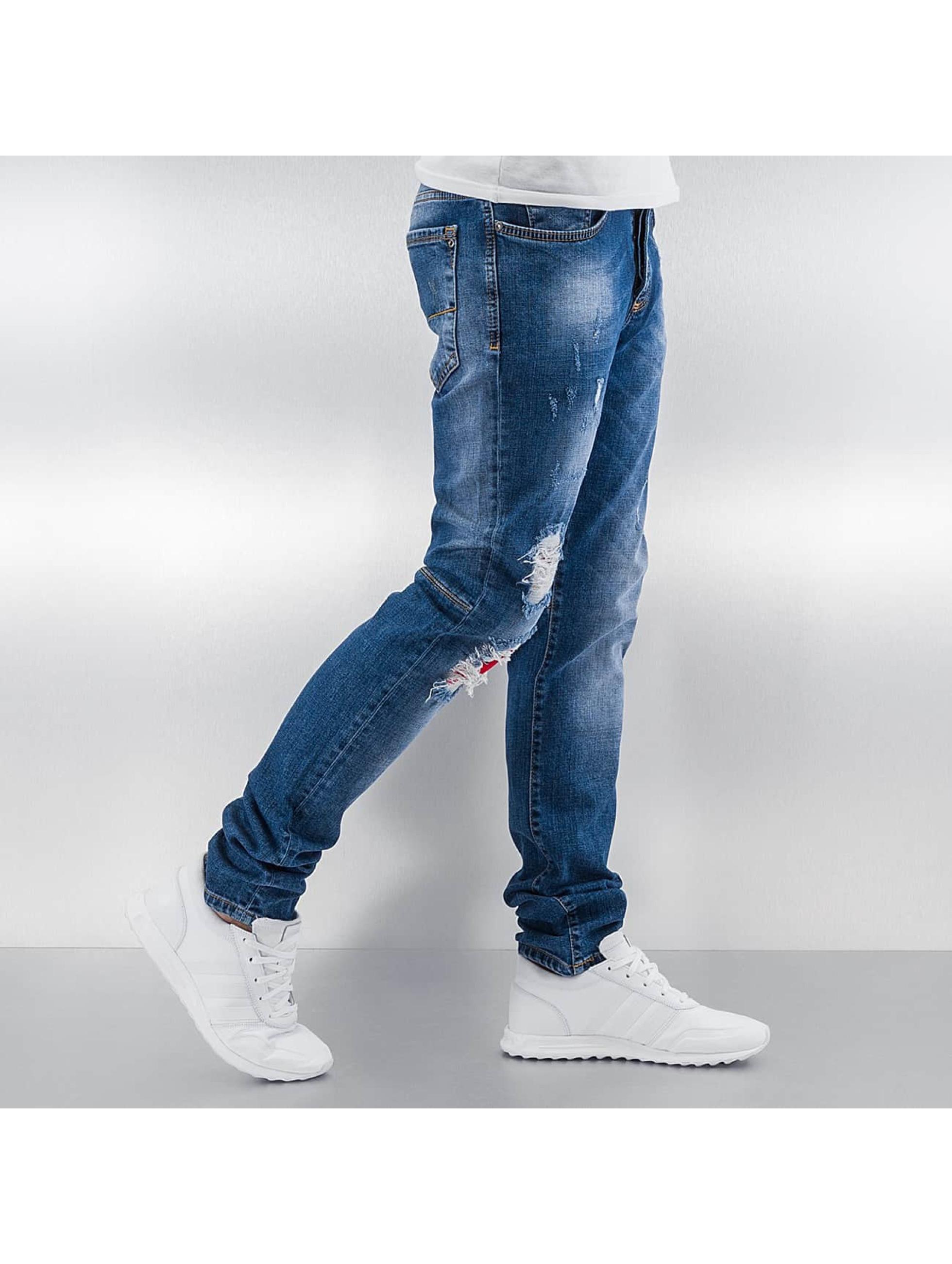 Pascucci Straight Fit Jeans Suzi blue