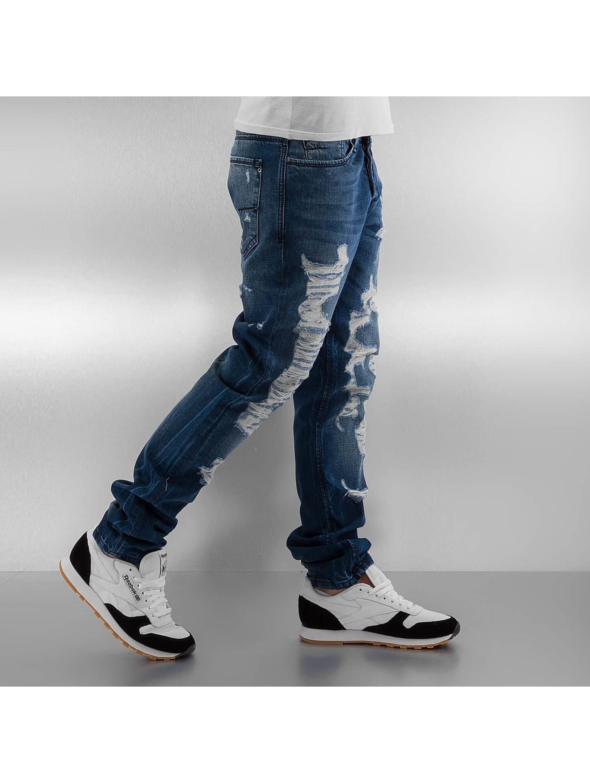 Pascucci Straight Fit Jeans Monk blue