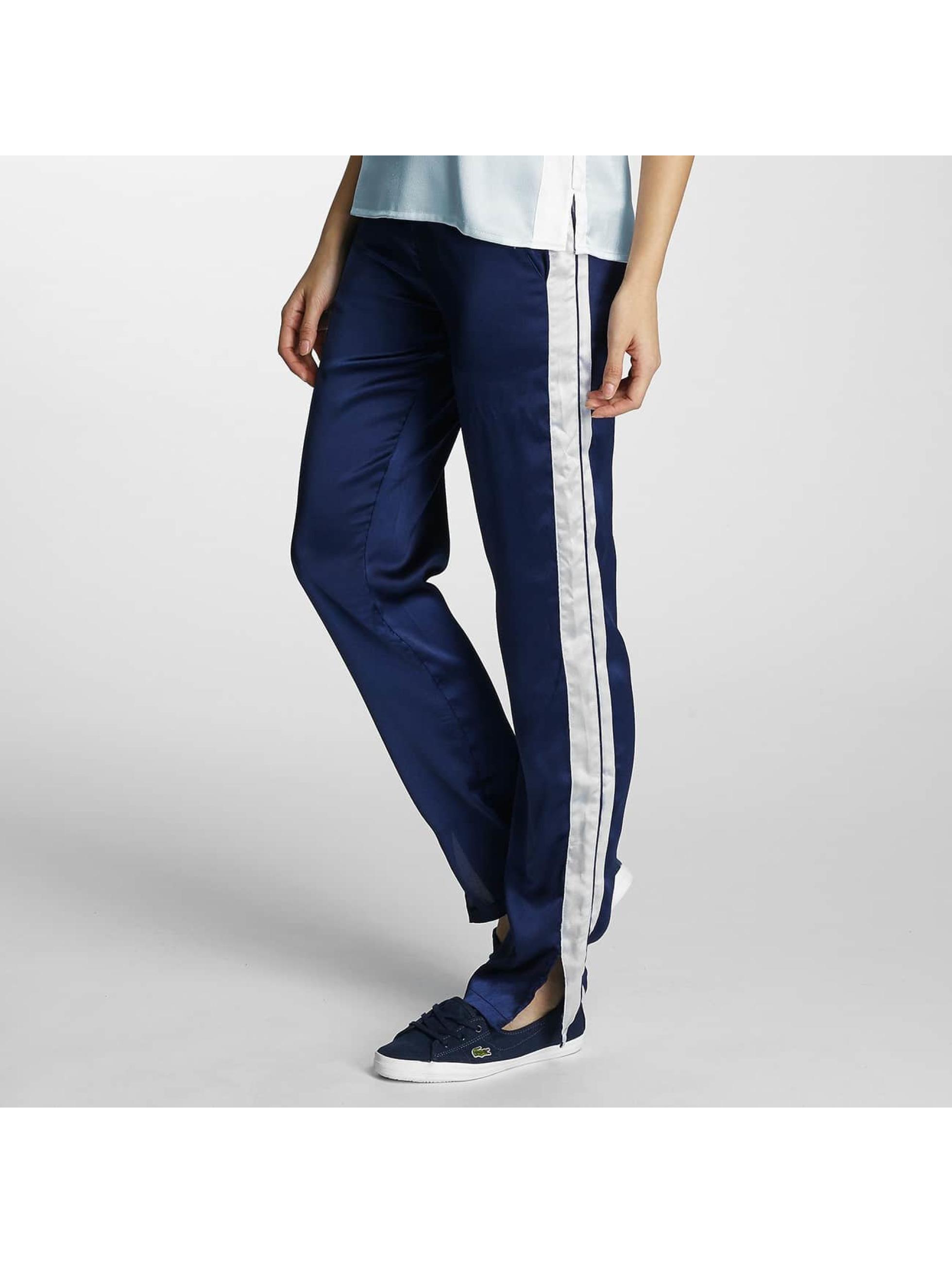 Pieces Chino pants pcEVE blue