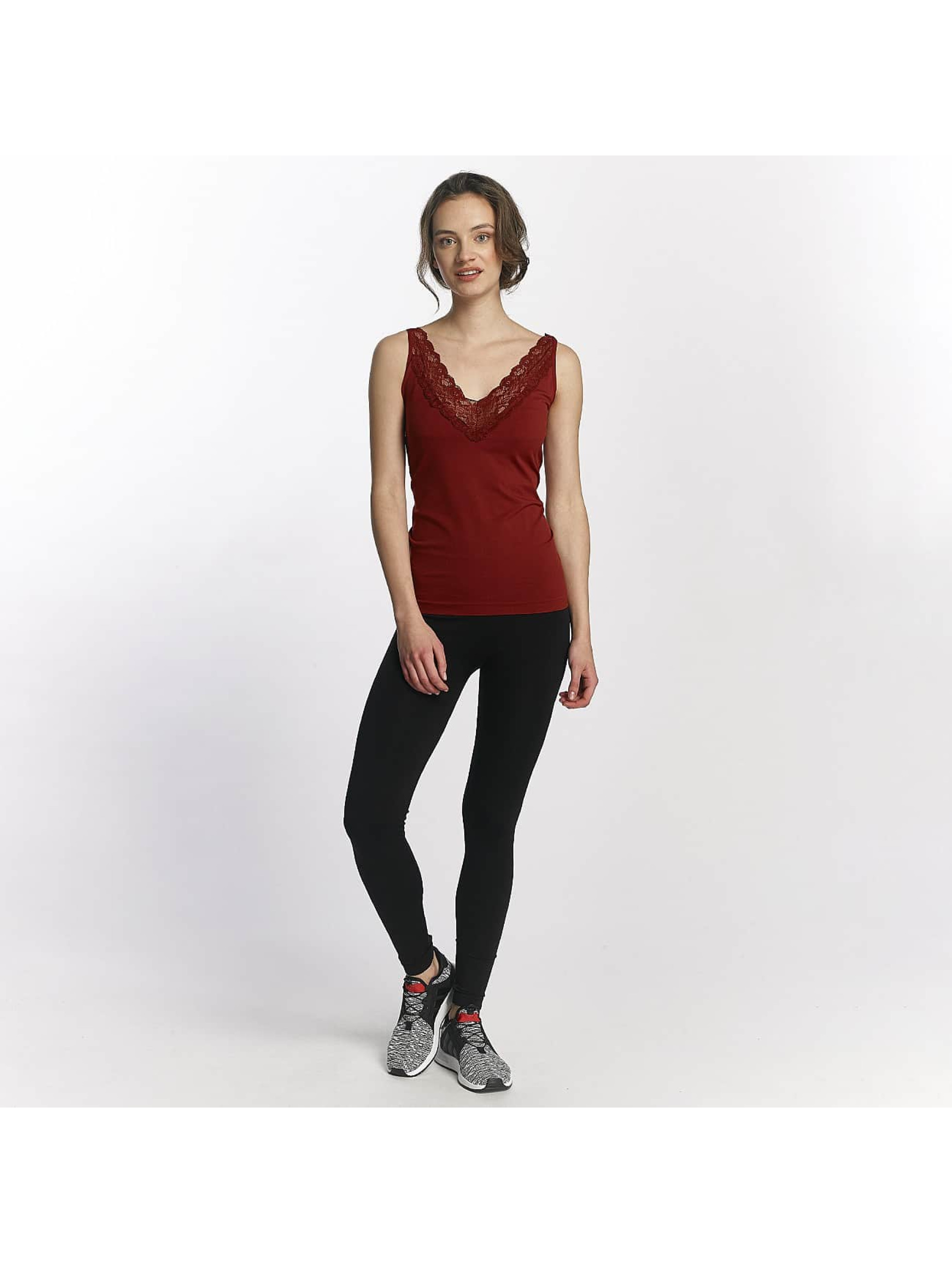 Pieces Top pcLoa red