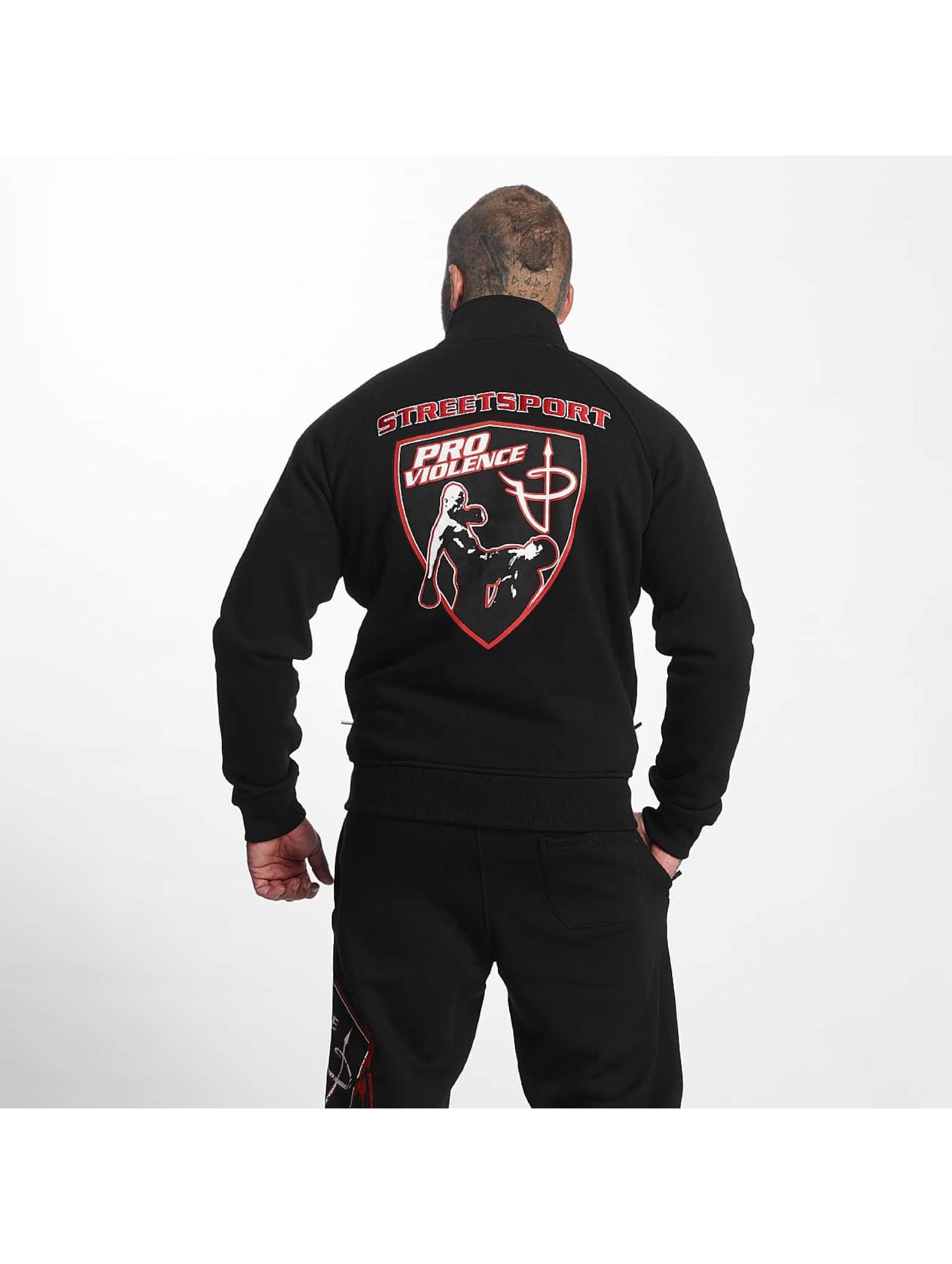 Pro Violence Streetwear Lightweight Jacket Adrenlin Hunter black