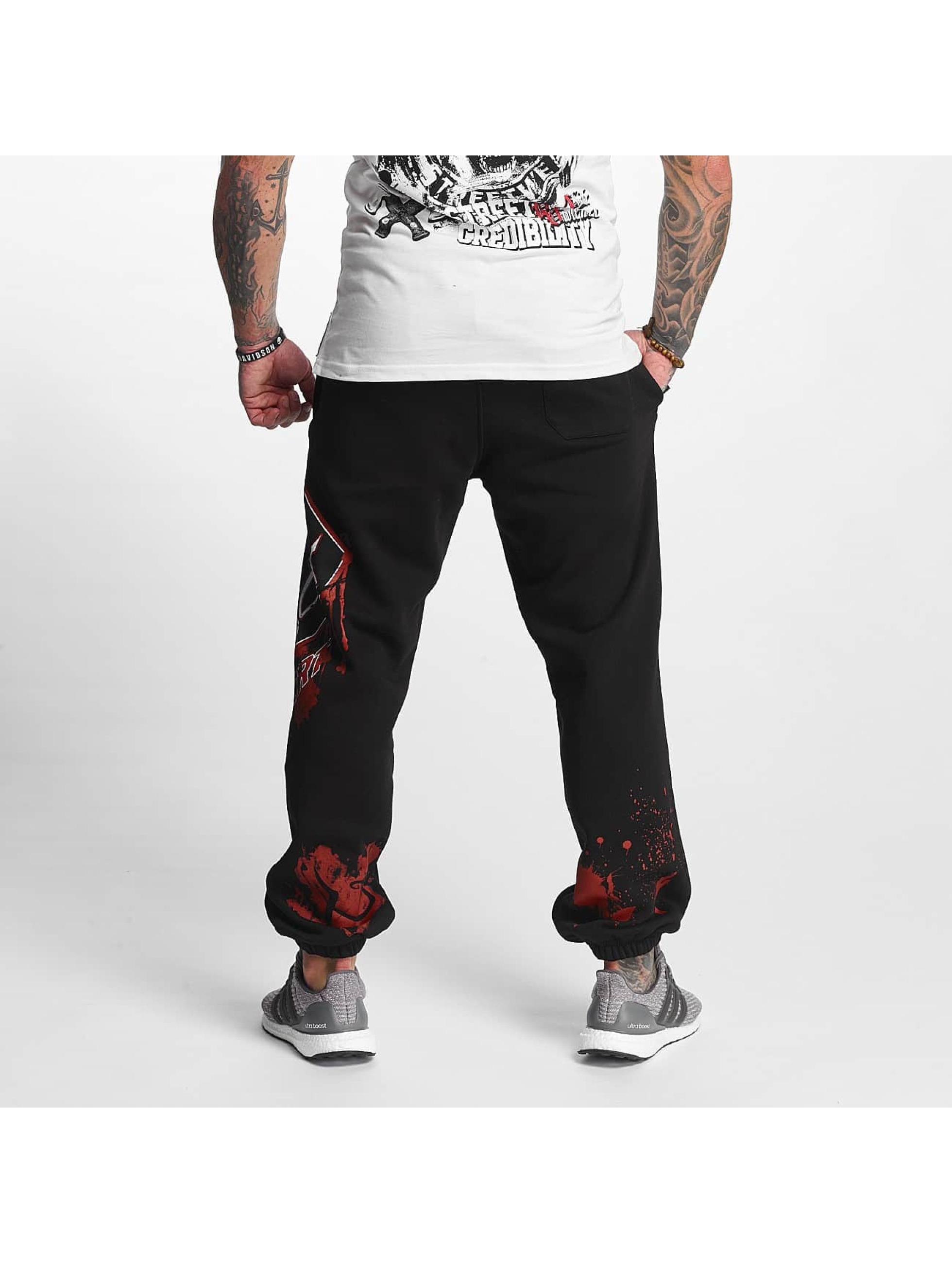Pro Violence Streetwear Sweat Pant Bloodsport black
