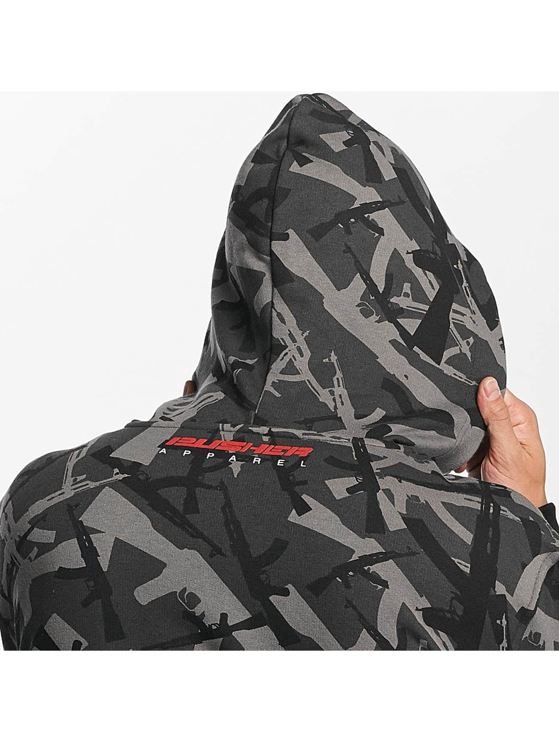 Pusher Apparel Hoodie AK Camo camouflage