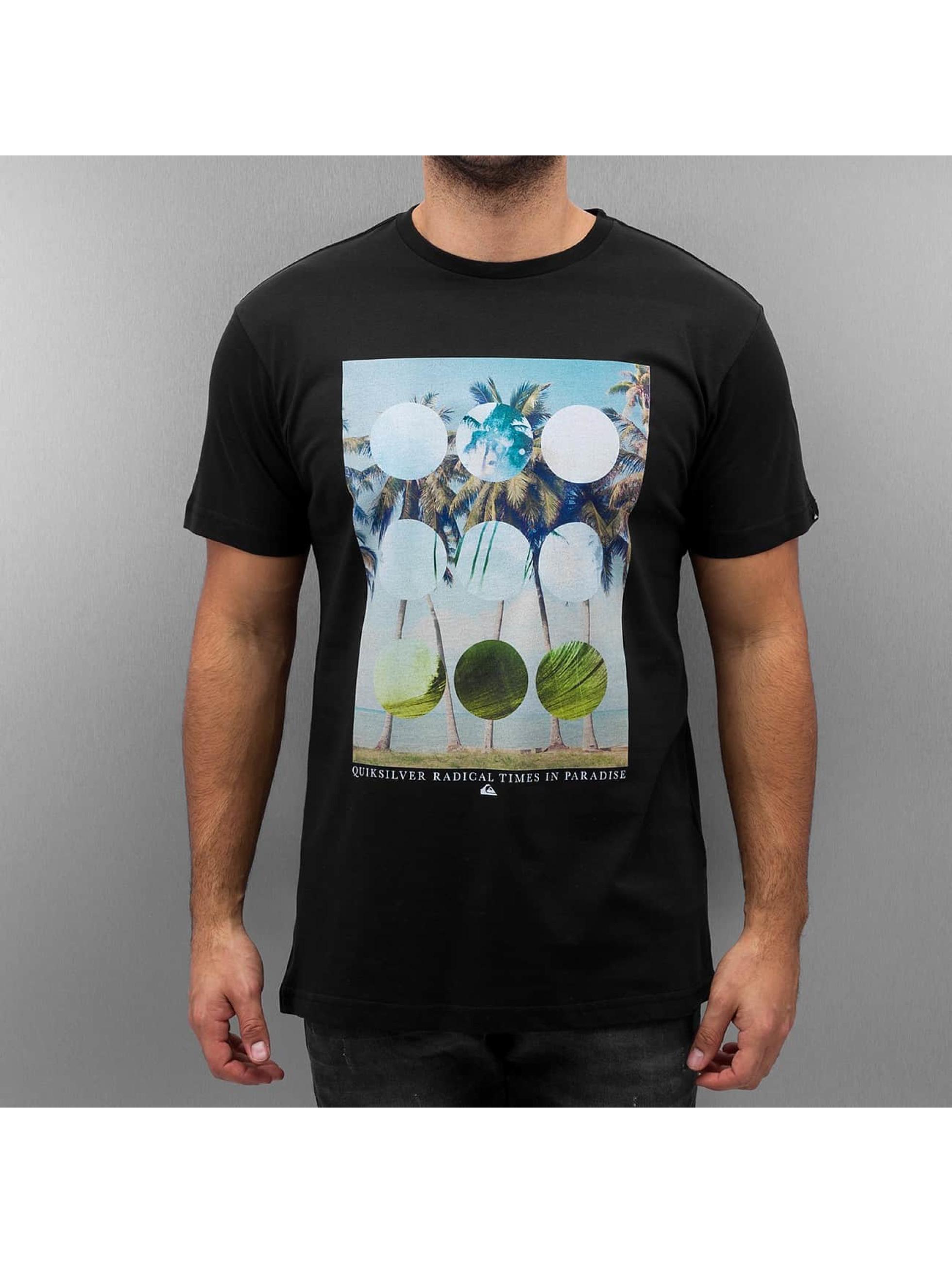 Quiksilver T-Shirt Lost Paradise black