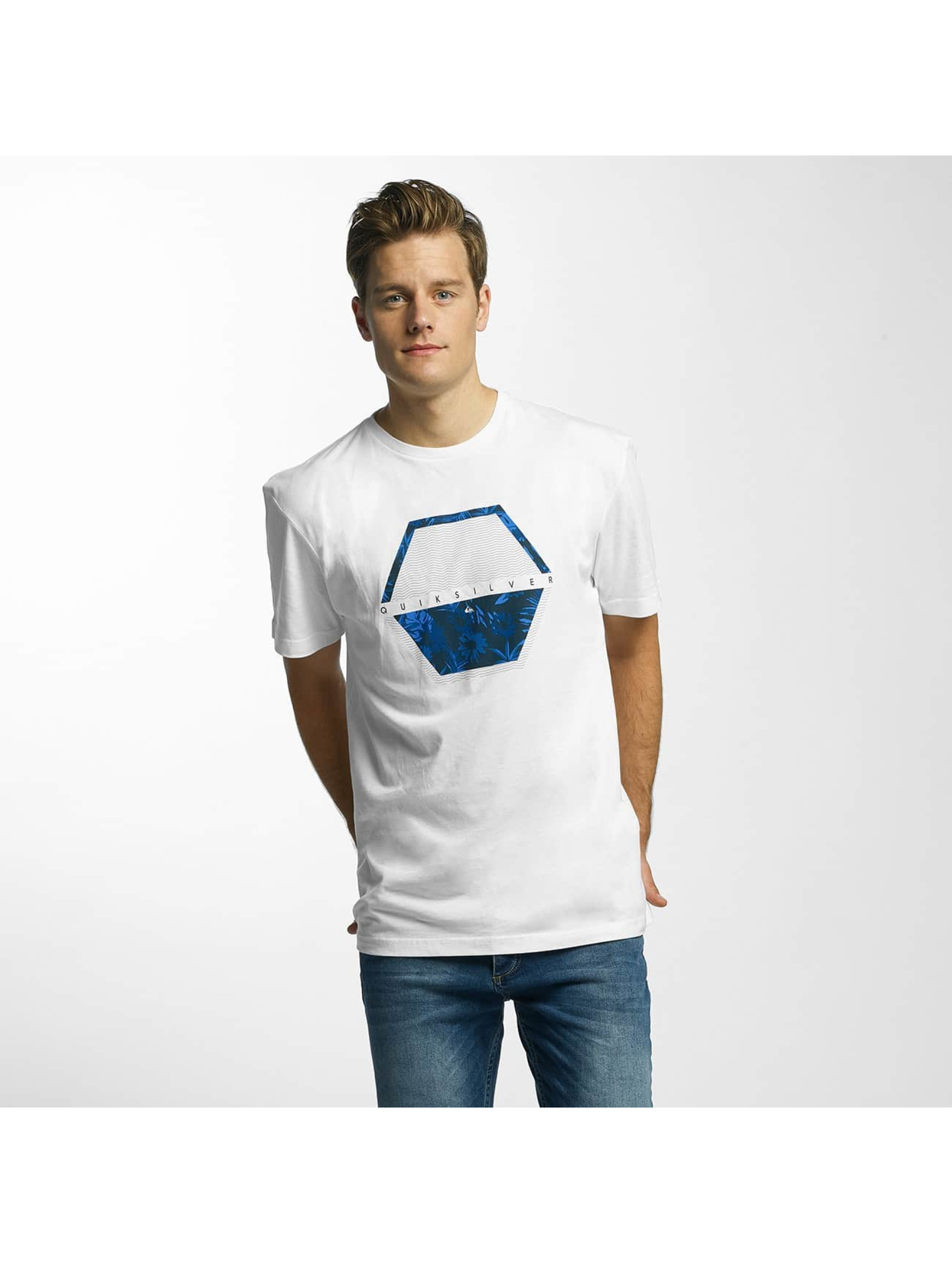 Quiksilver T-Shirt Classic Comfort Place white