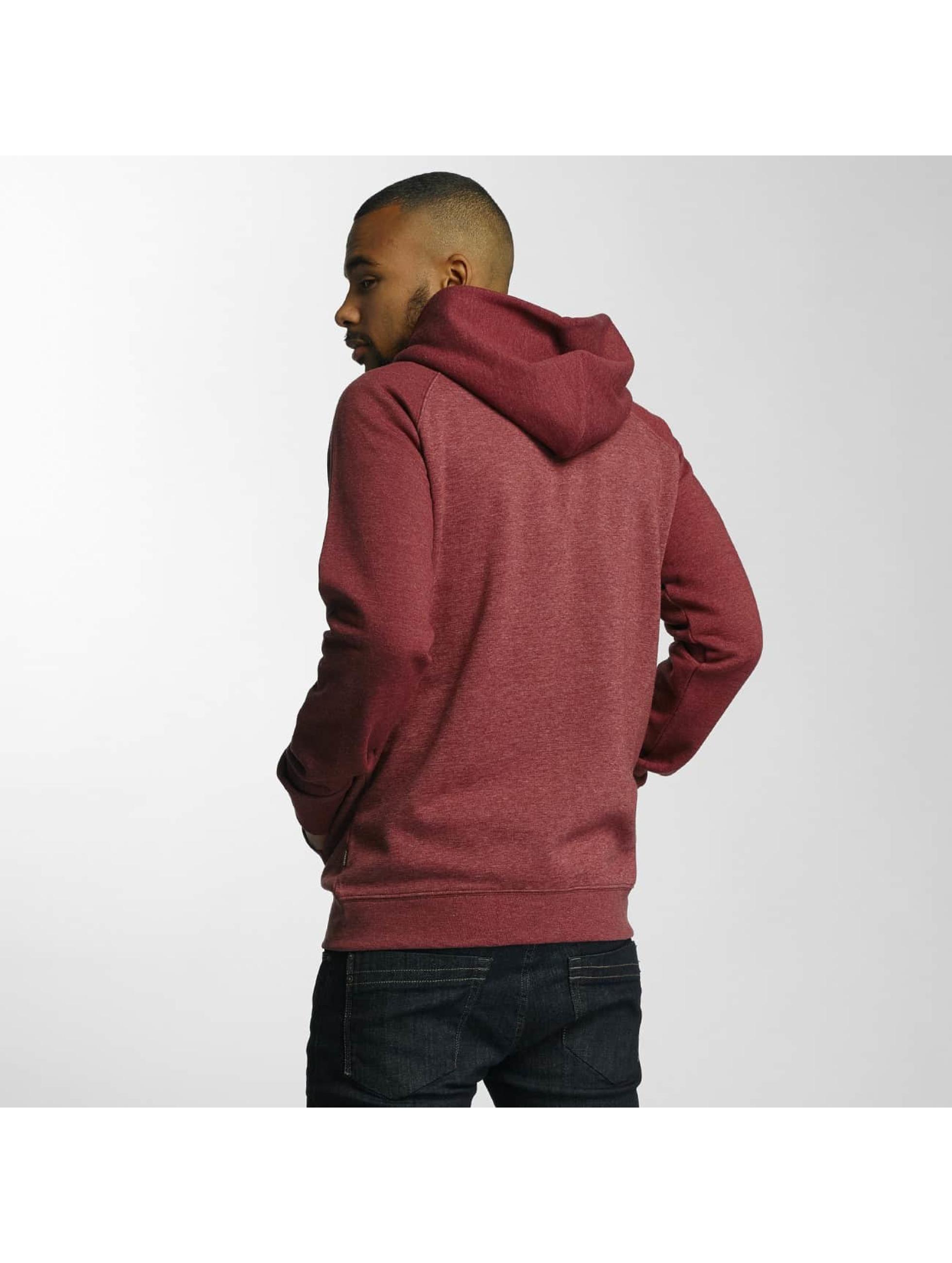 Quiksilver Zip Hoodie Everyday red
