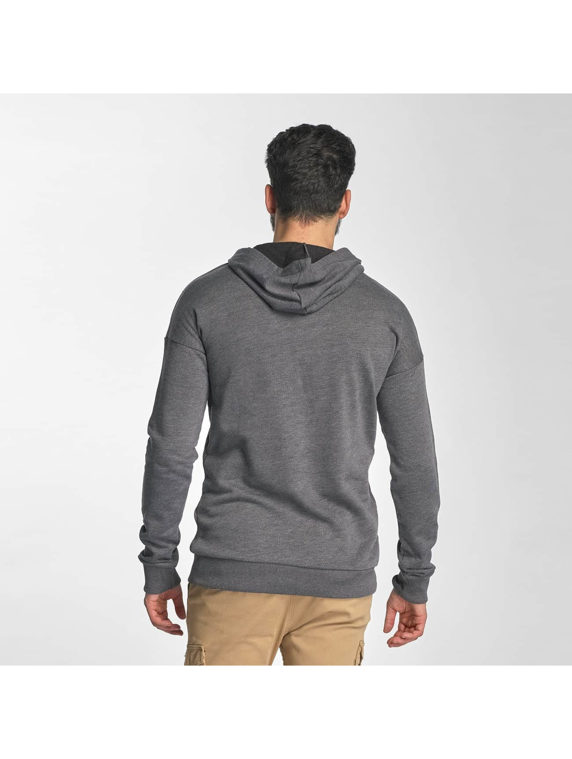 Red Bridge Hoodie Carbon Network gray