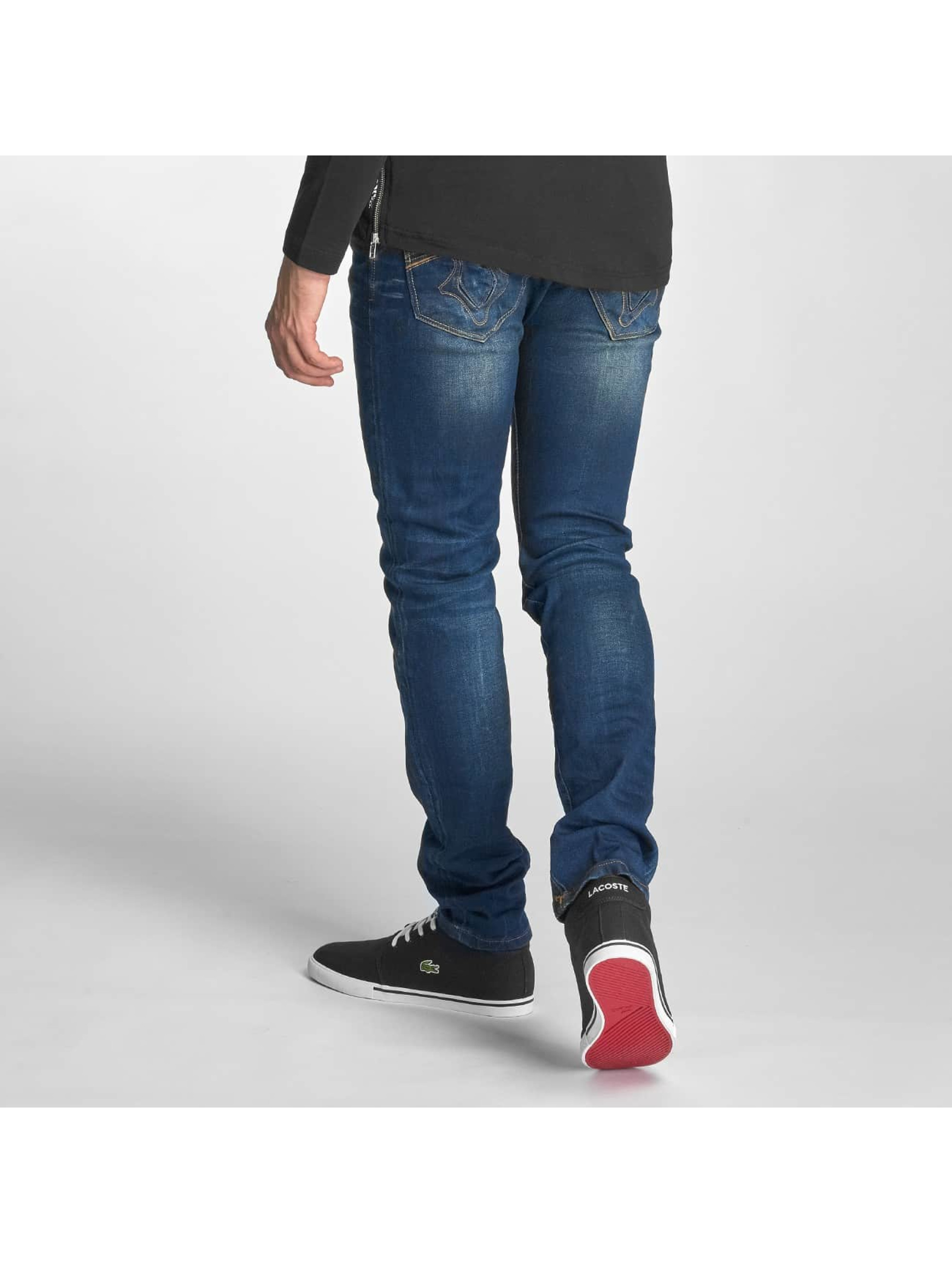 Red Bridge Slim Fit Jeans Washed blue