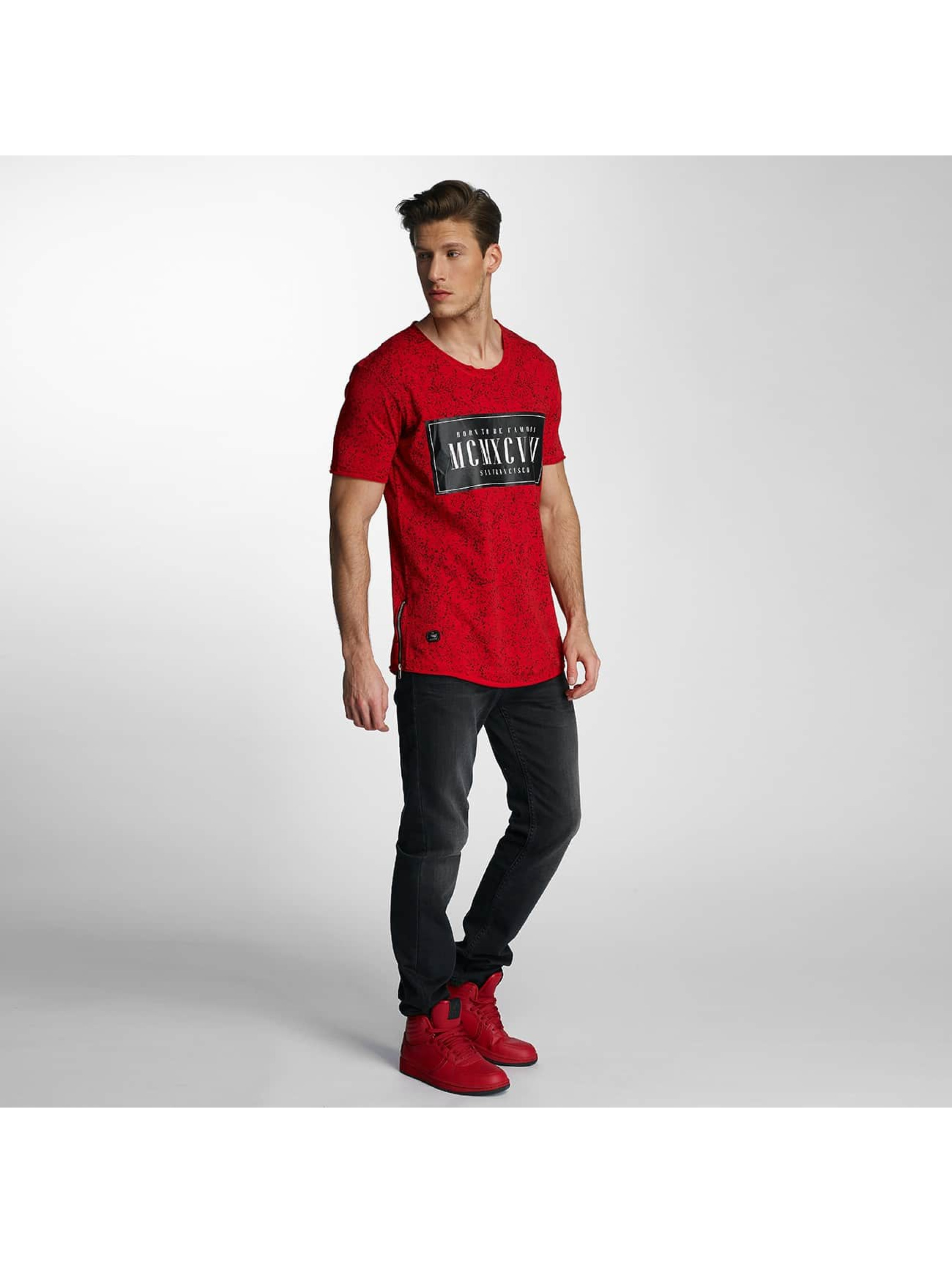 Red Bridge T-Shirt Born To Be Famous red