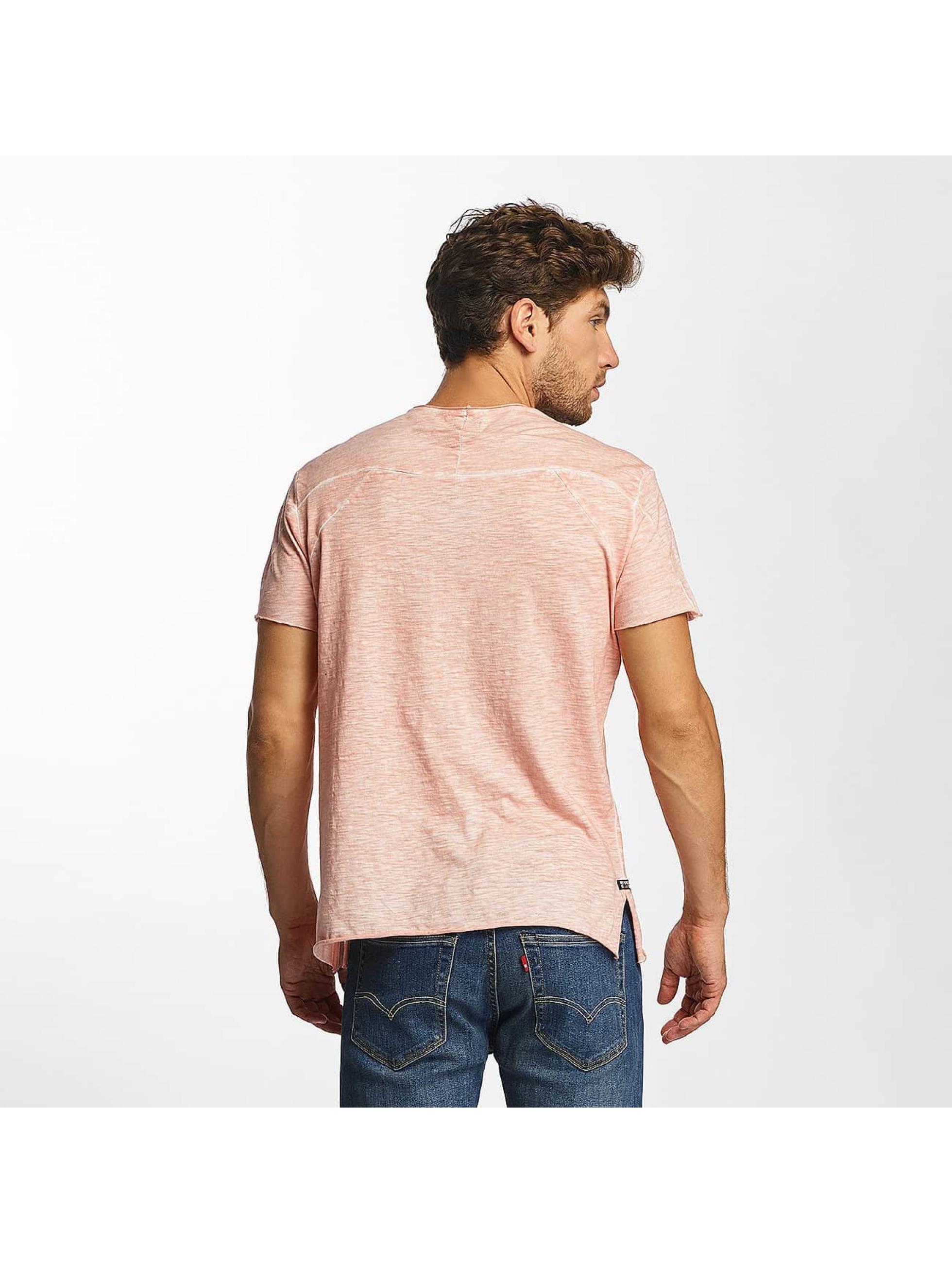 Red Bridge T-Shirt Flamed Frame Vintage Used-Look rose