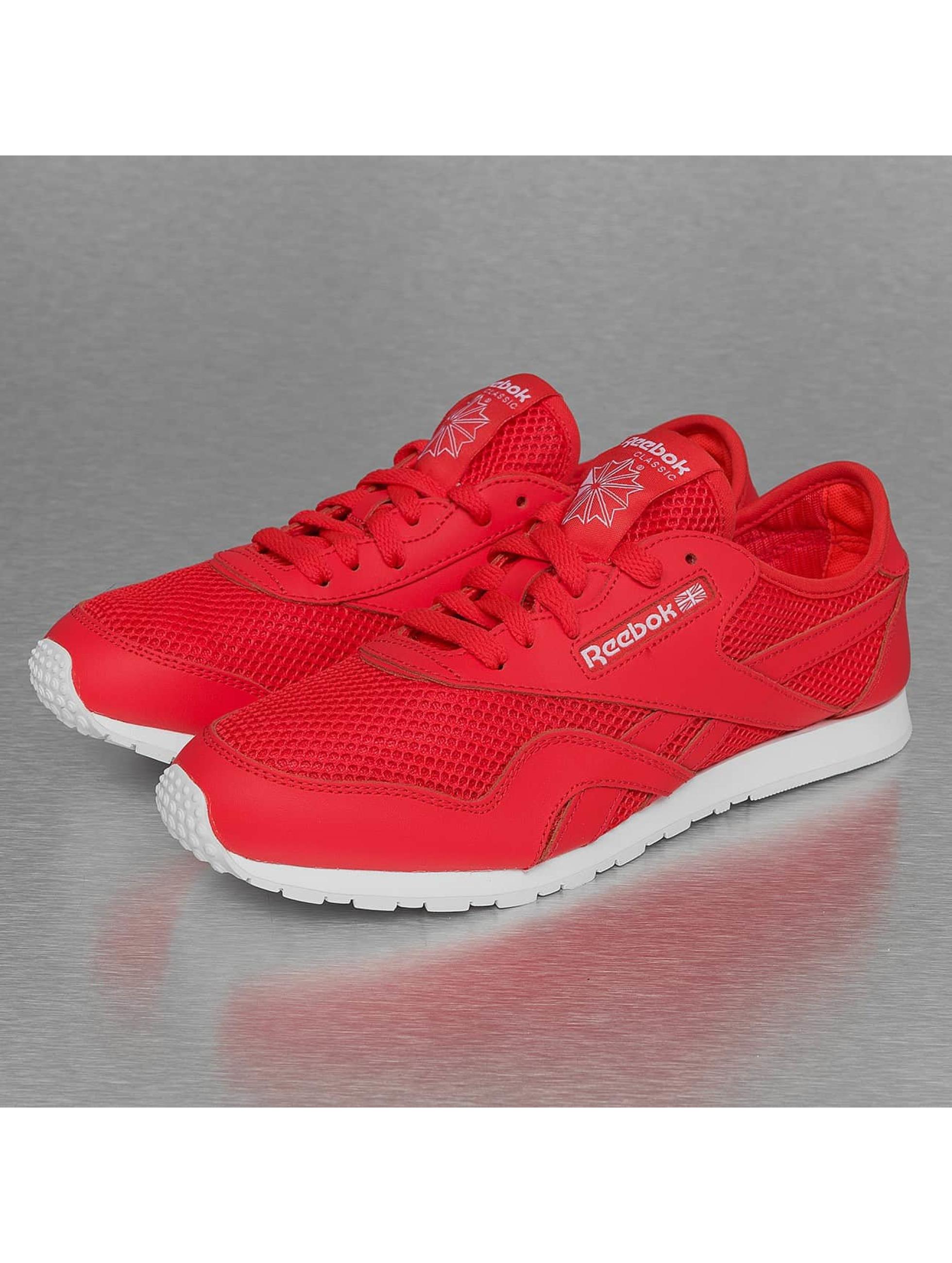 basket reebok rouge,basket Reebok CL Leather Ripple Mono