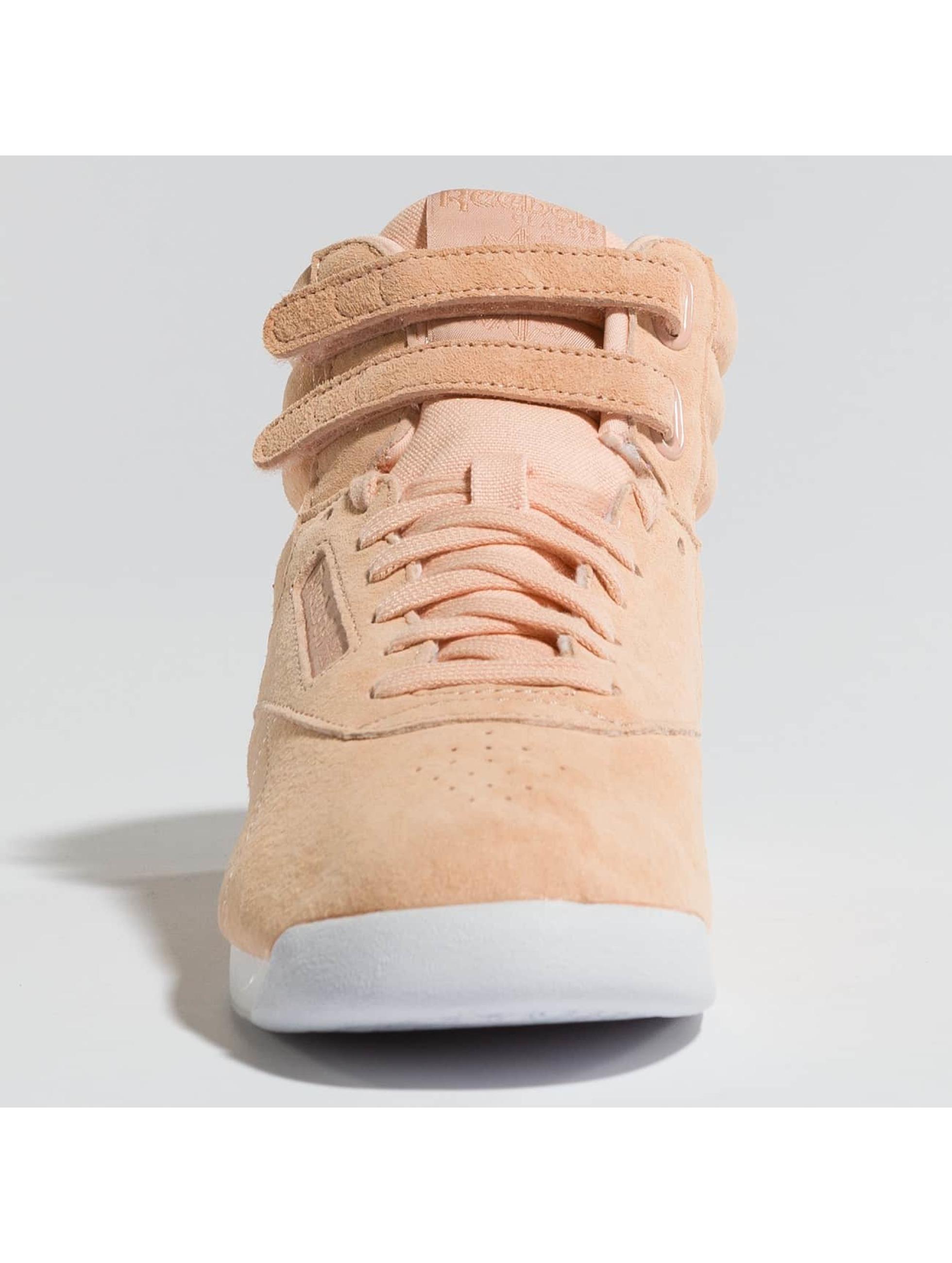 Reebok Sneakers Freestyle Hi Nubuk rose