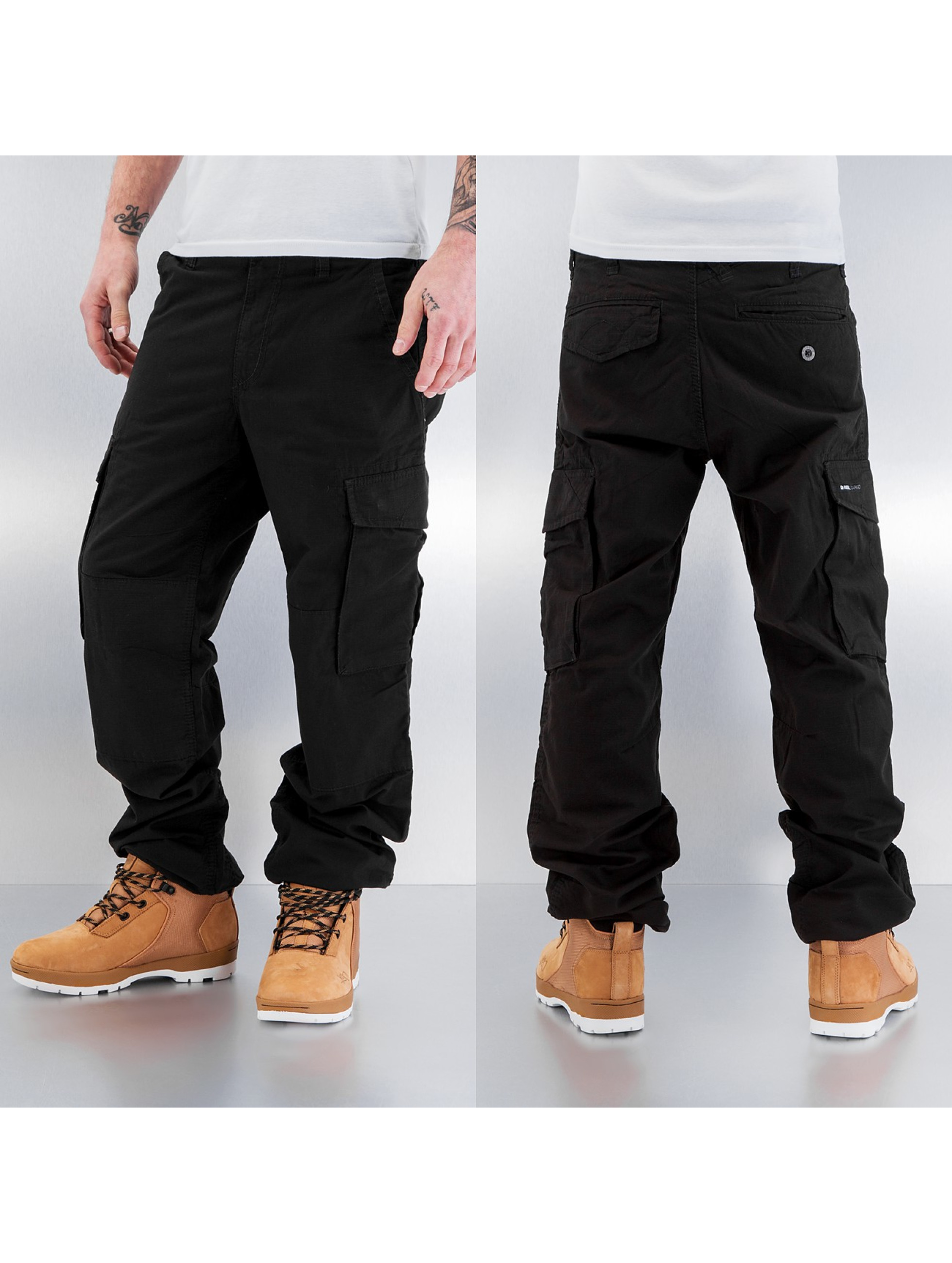 reell jeans ripstop noir homme pantalon cargo reell jeans acheter pas cher pantalon 179919. Black Bedroom Furniture Sets. Home Design Ideas