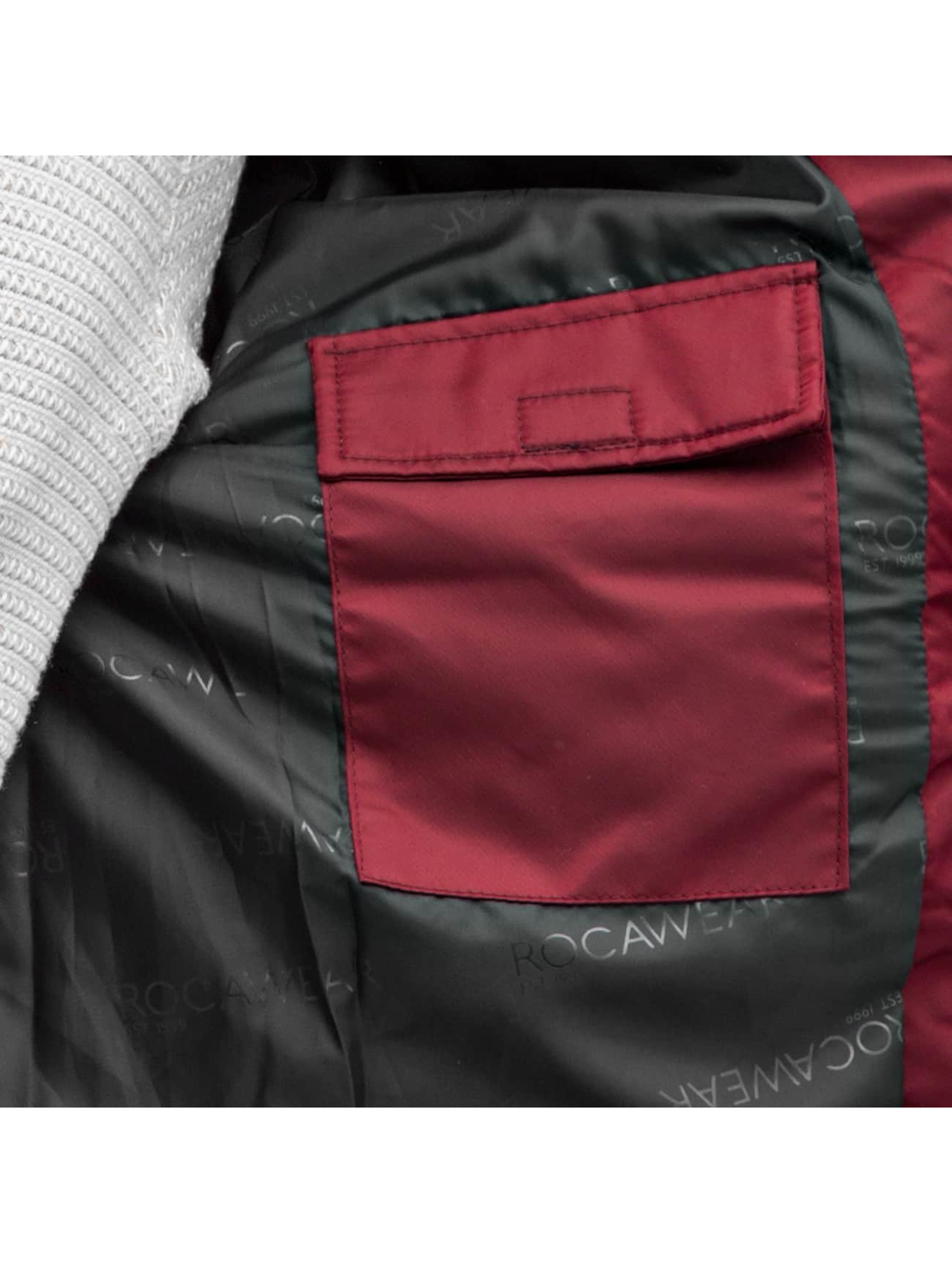 Rocawear Bomber jacket Bomber red