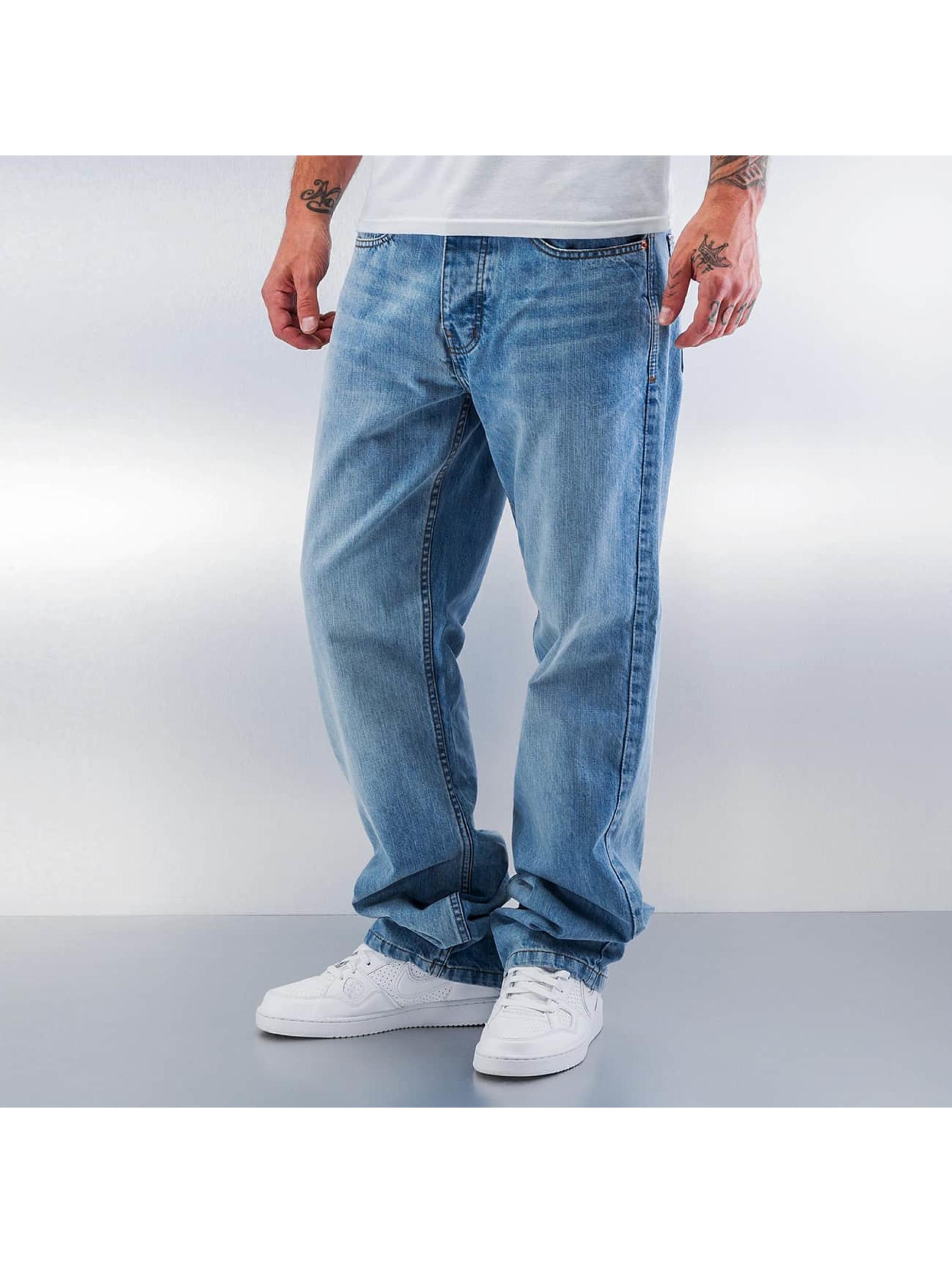 rocawear herren loose fit jeans tap in blau 270726. Black Bedroom Furniture Sets. Home Design Ideas