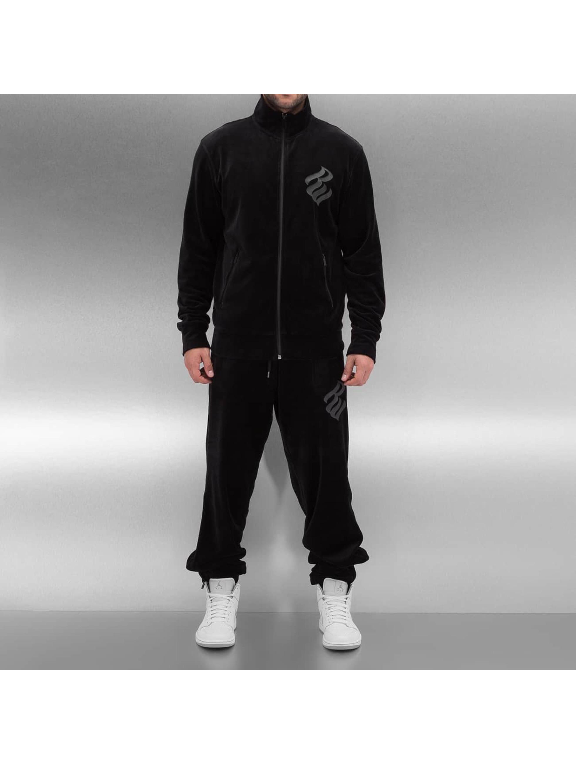 Rocawear Suits Velour Samt black