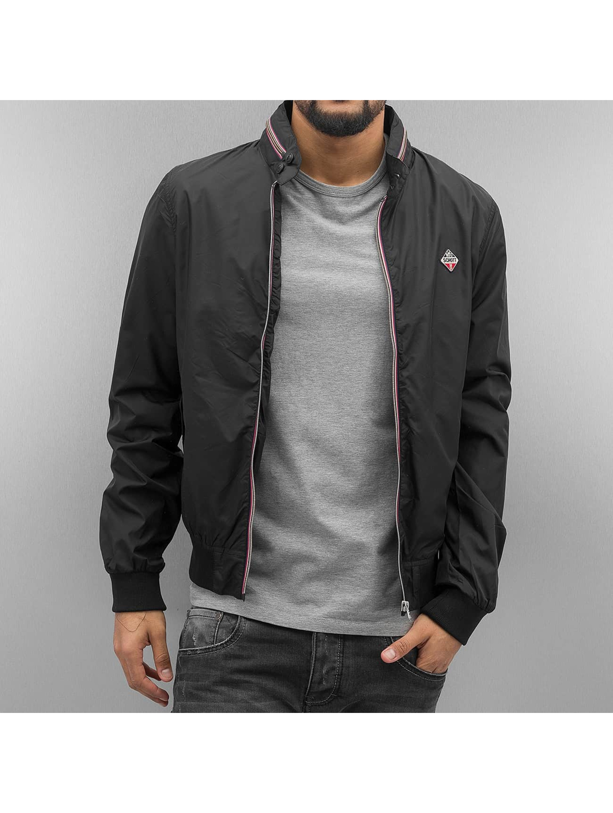Schott NYC College Jacket Classic black