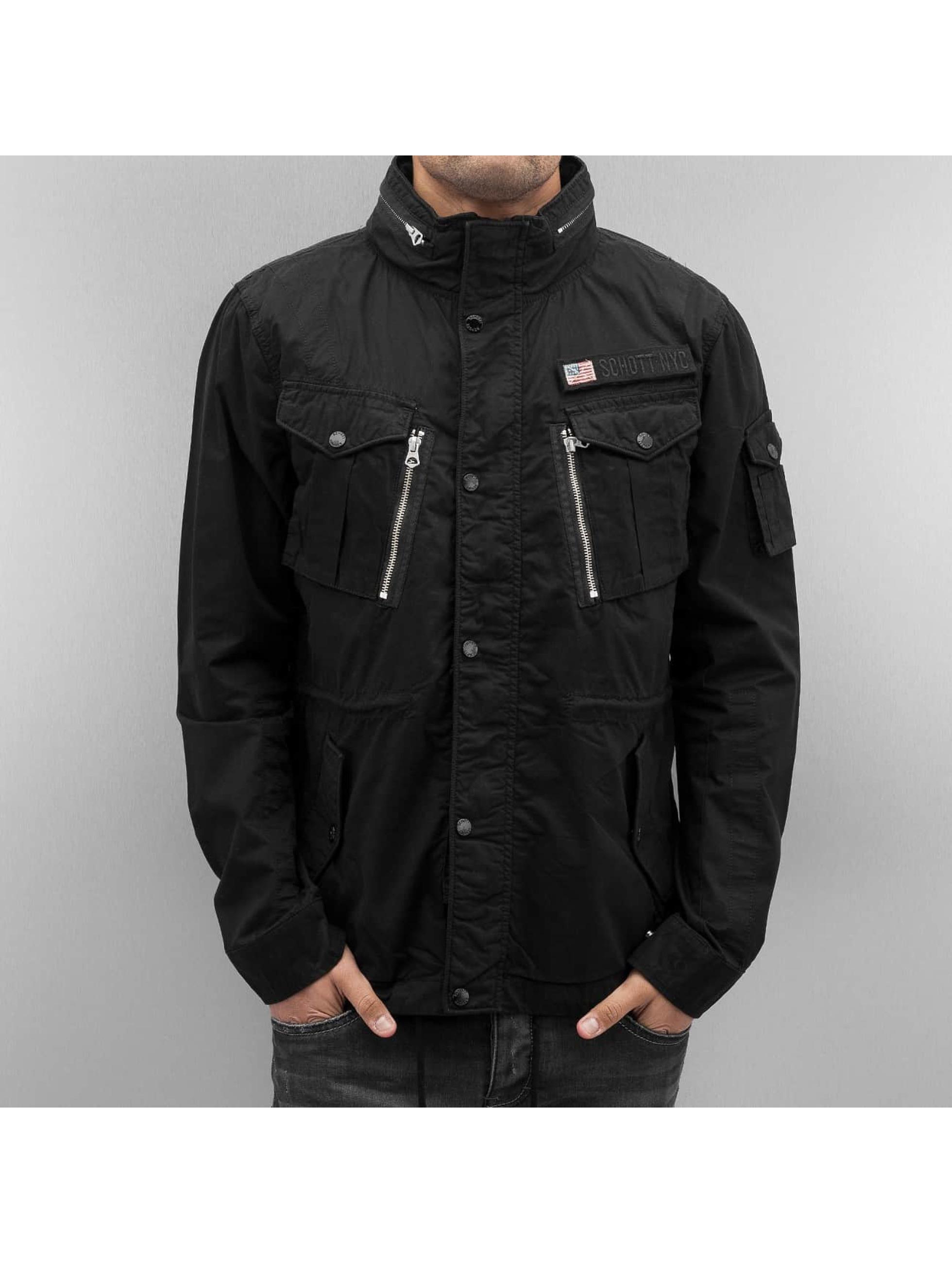 Schott NYC Lightweight Jacket Field black