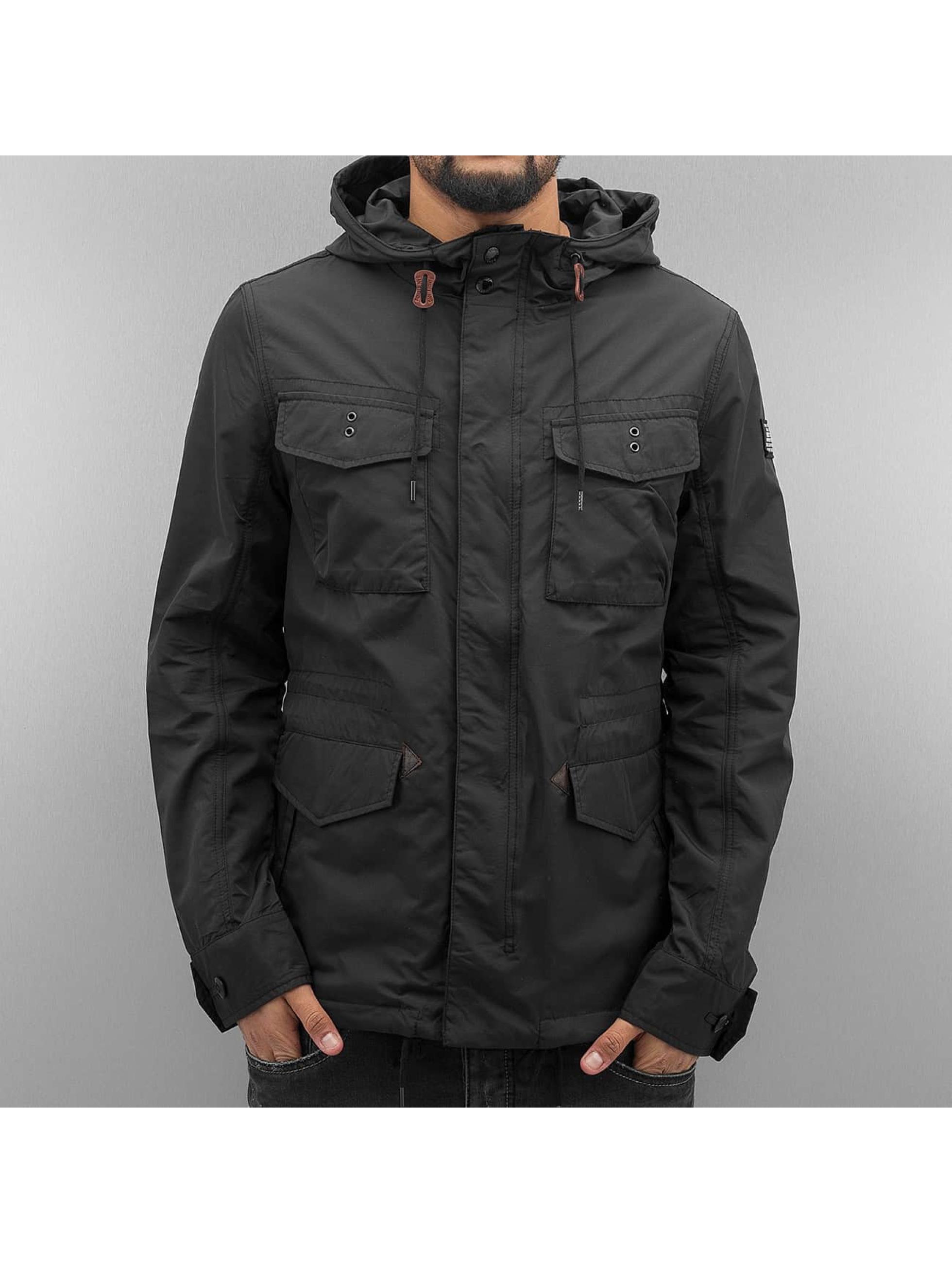 Schott NYC Lightweight Jacket Field Rickson black