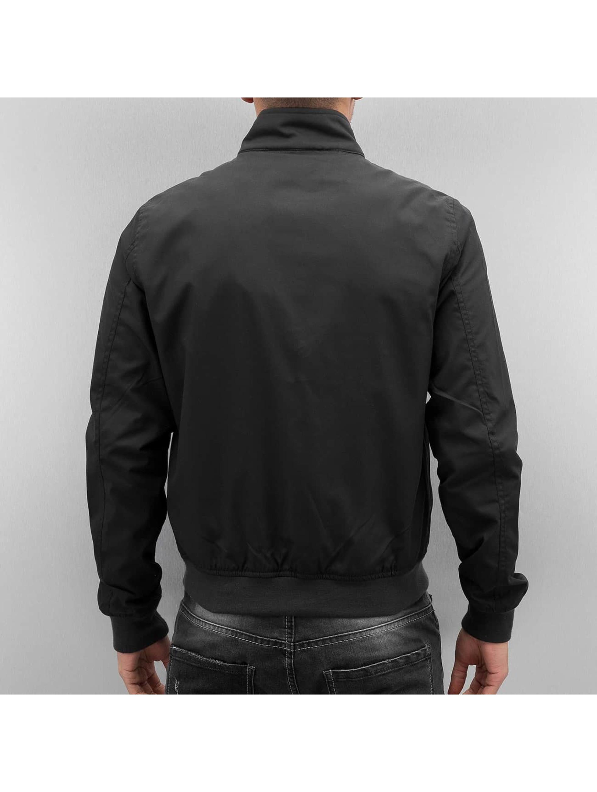 Schott NYC Lightweight Jacket Stardust black