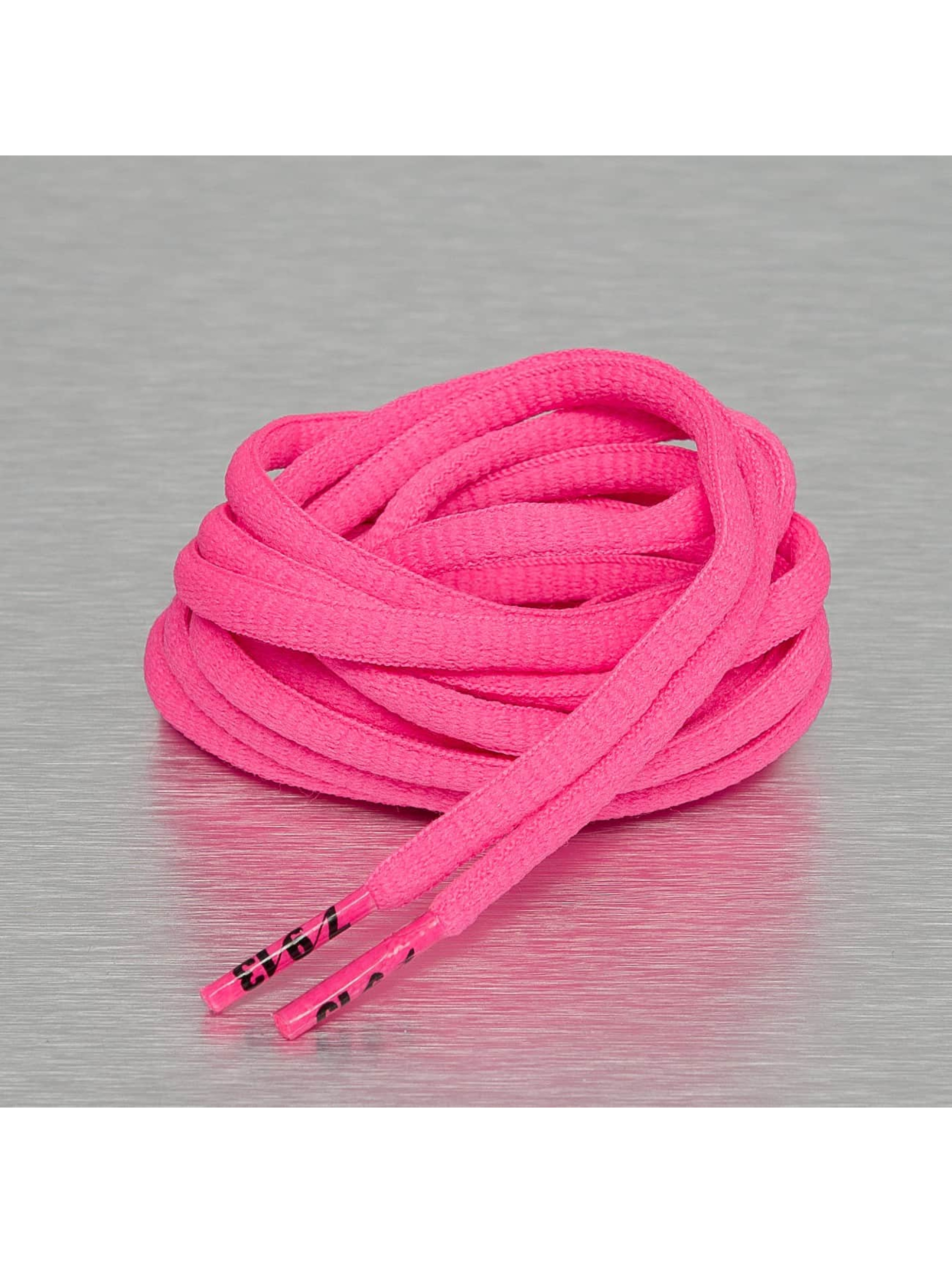 Seven Nine 13 Shoelace Hard Candy Round pink