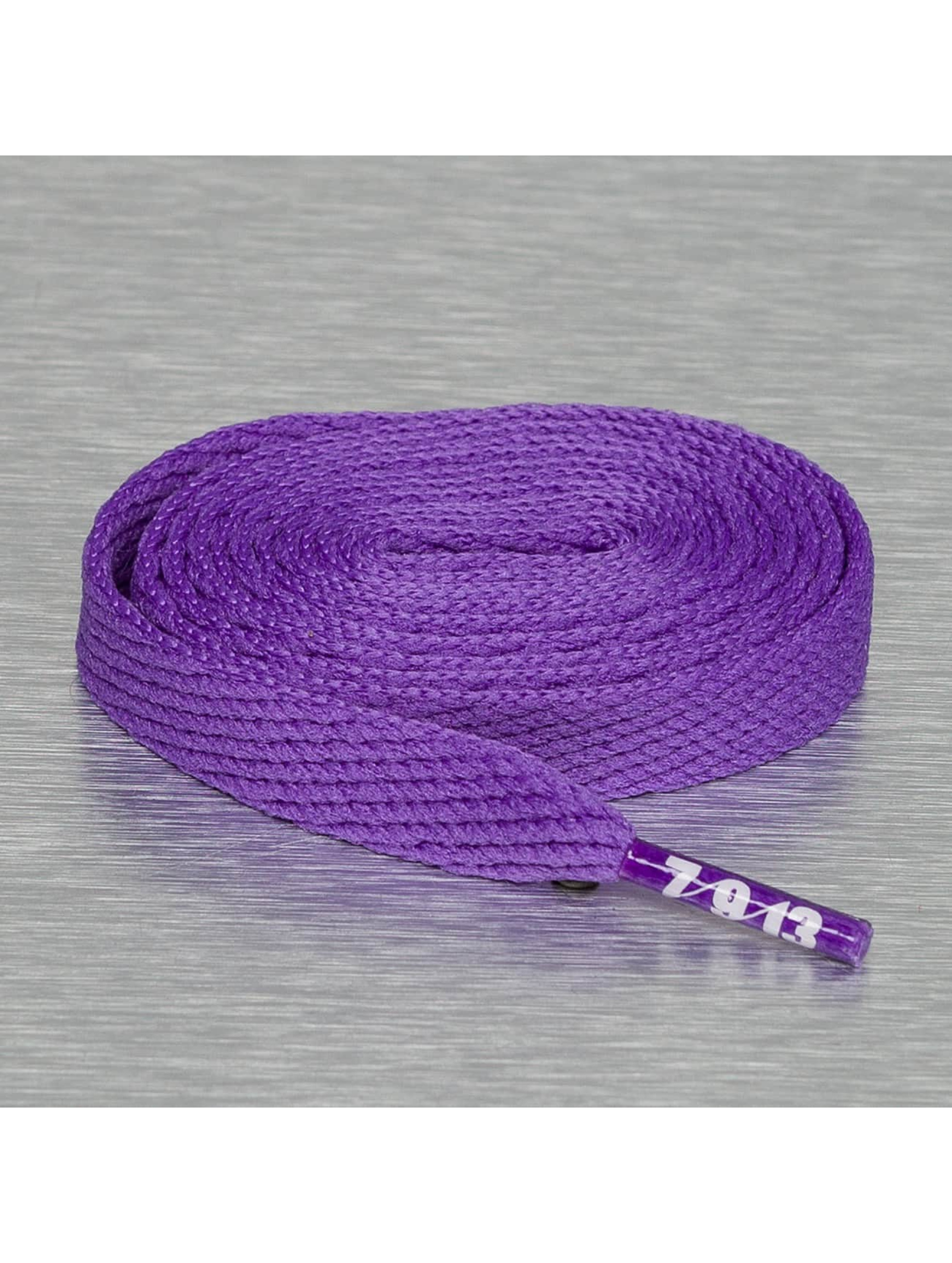 Seven Nine 13 Shoelace Hard Candy Flat purple